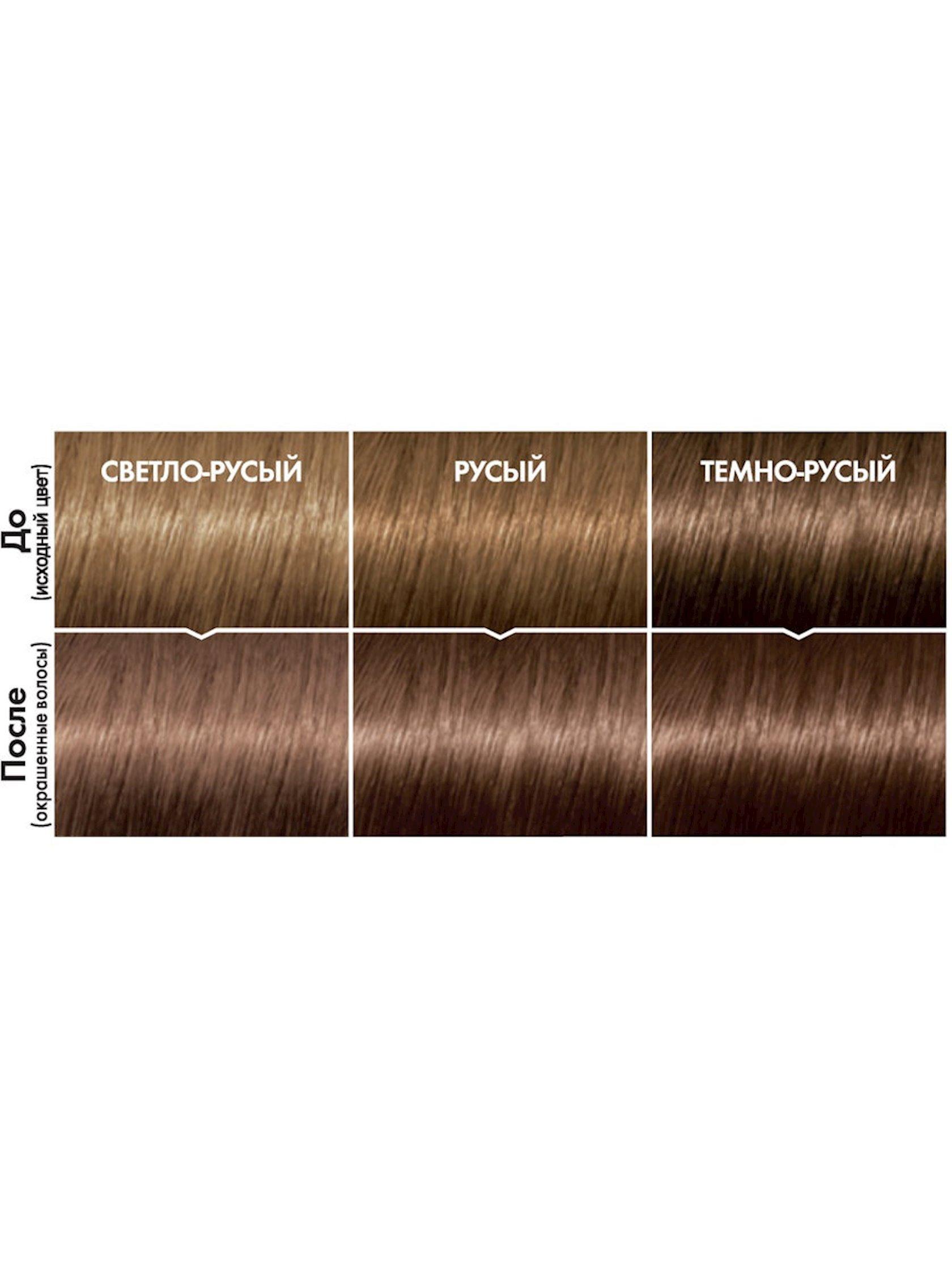 Saç üçün qalıcı krem-boya L'Oreal Paris Casting Creme Gloss ammonyaksız 780 Qozlu mokko