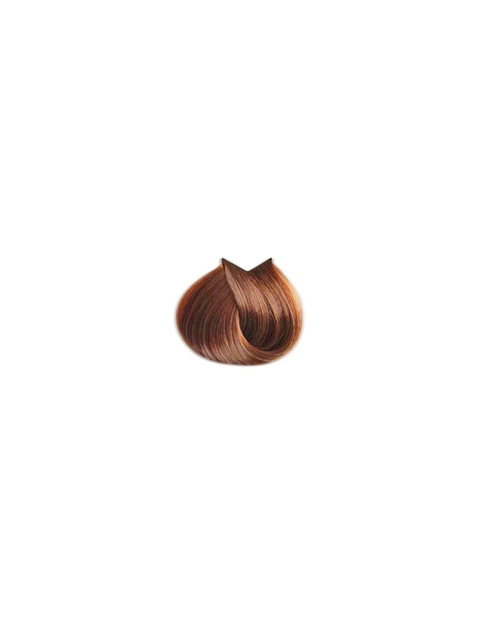Saç üçün qalıcı krem-boya Farmavita Life Color Plus 8.34 Çox açıq qızılı küllü blond