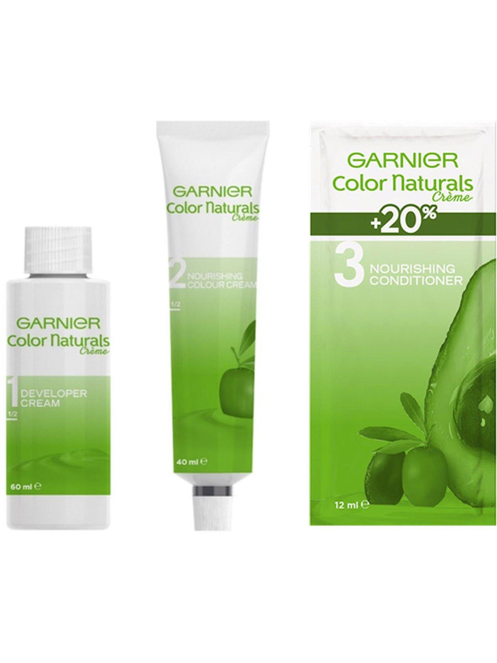 Saç üçün qalıcı krem-boya Garnier Color Naturals 4.00 Dərin tünd şabalıd