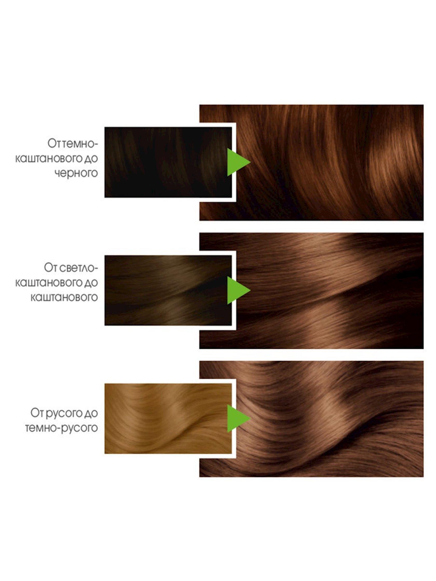 Saç üçün qalıcı krem-boya Garnier Color Naturals 6.34 Karamel
