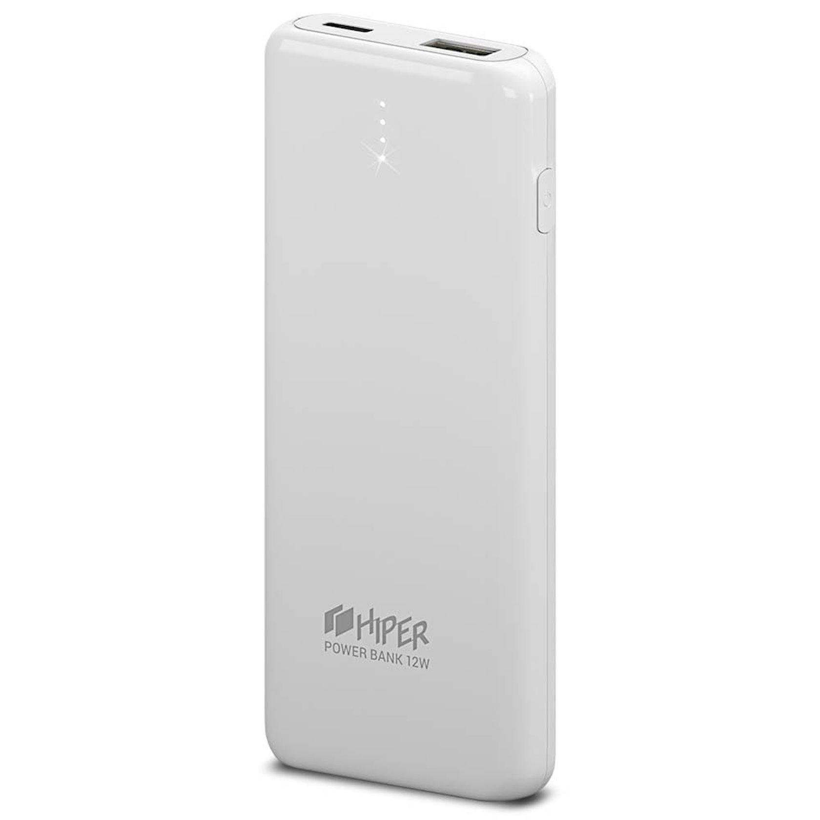 Xarici akkumulyator Hiper Power Bank 8000 mA/saat PSL8000 White