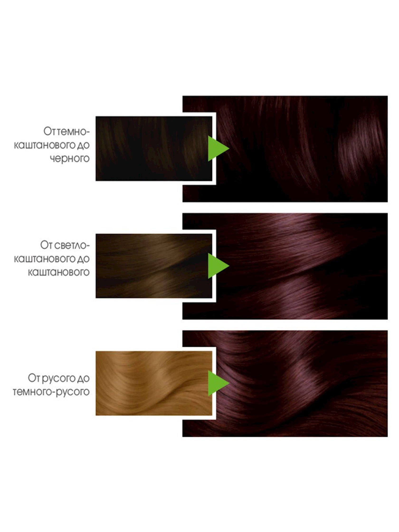 Saç üçün qalıcı krem-boya Garnier Color Naturals 3.61 Şirəli böyürtkən