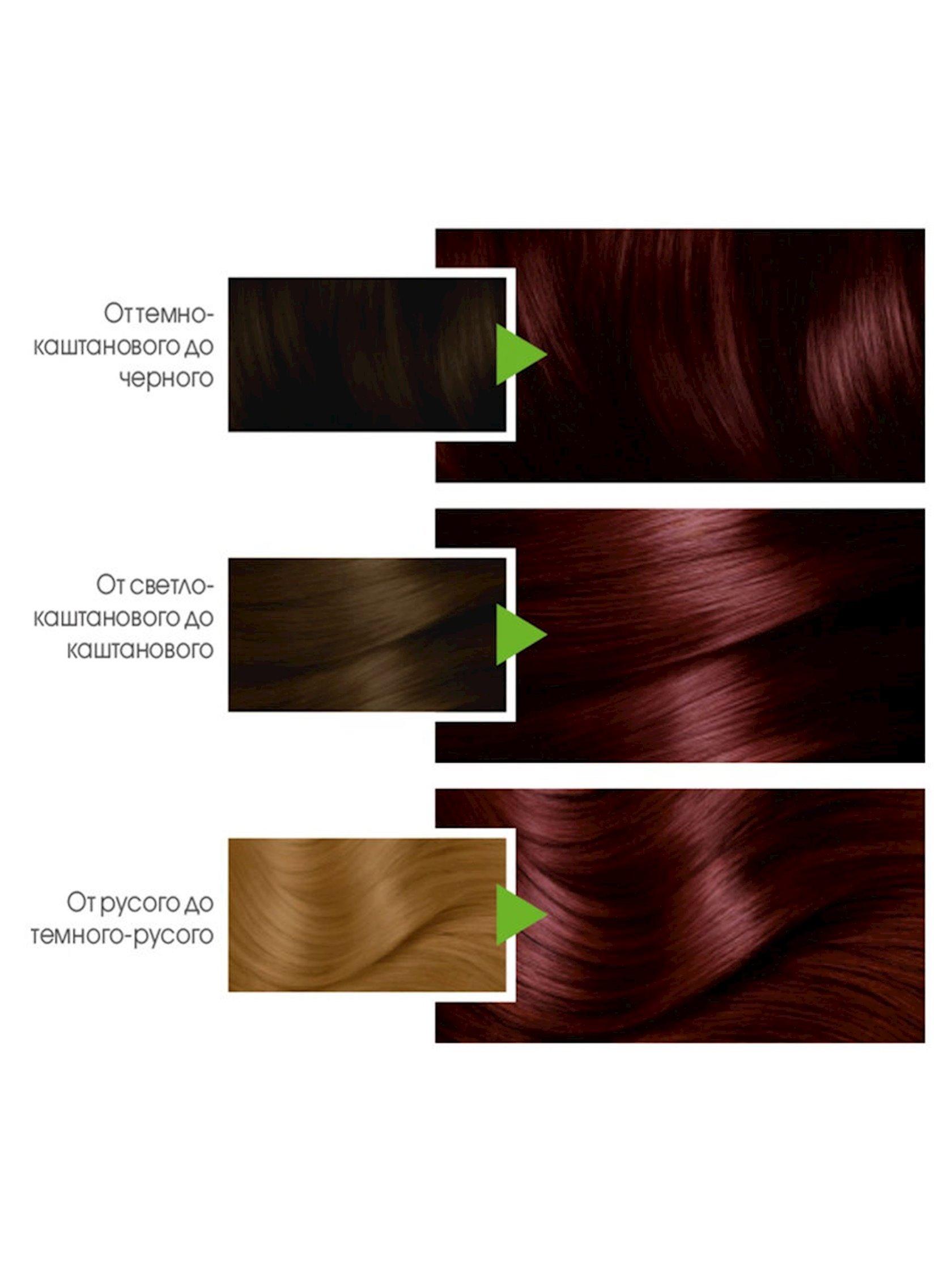 Saç üçün qalıcı krem-boya Garnier Color Naturals 4.62 Yetişmiş albalı