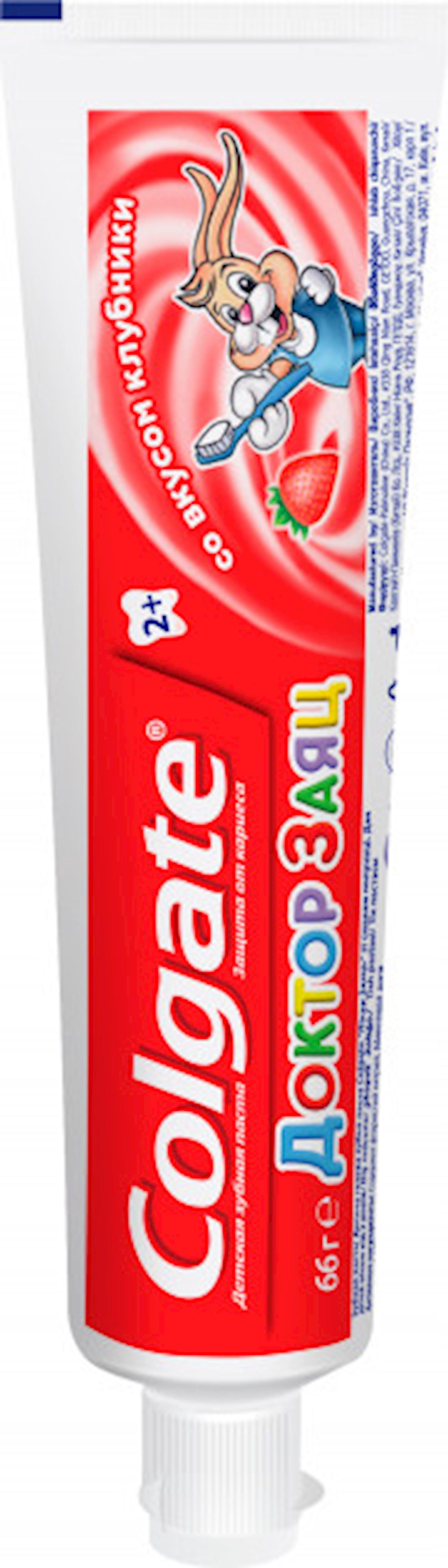 """Diş pastası uşaqlar üçün Colgate """"Doktor Dovşan"""" ciyələkli 50 ml"""