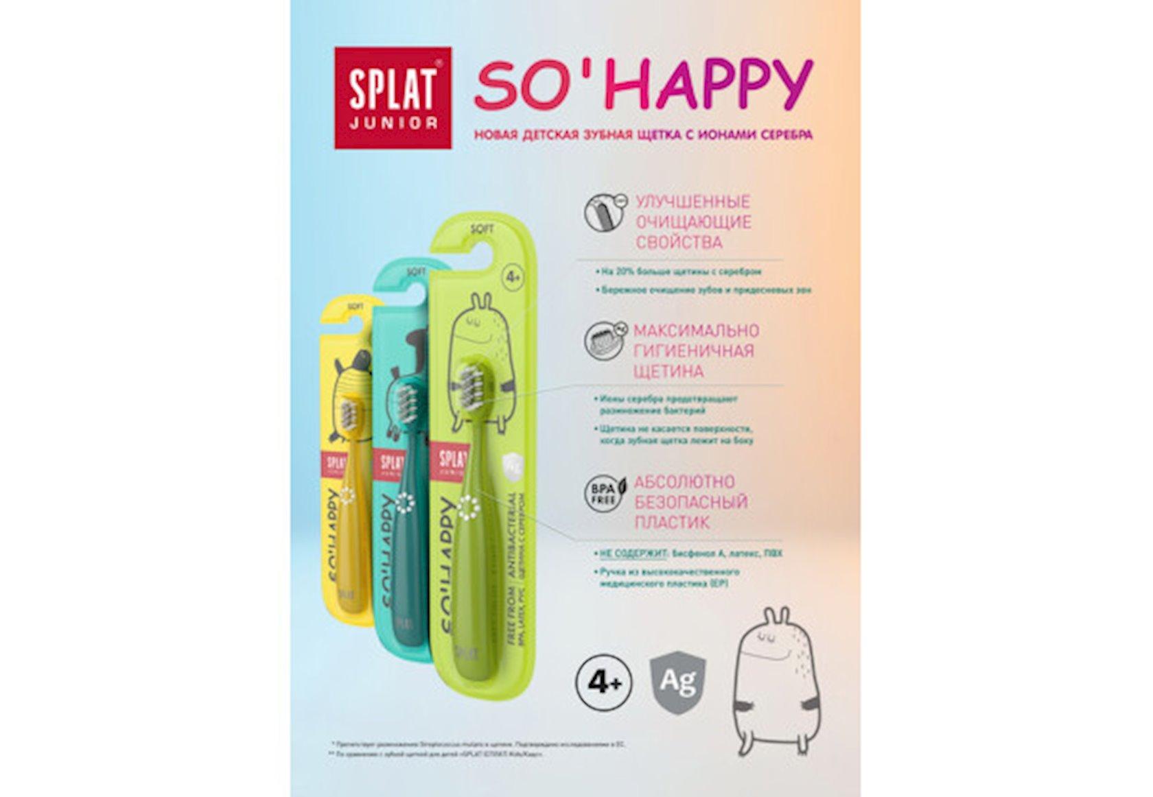 Diş fırçası uşaq üçün Splat Junior