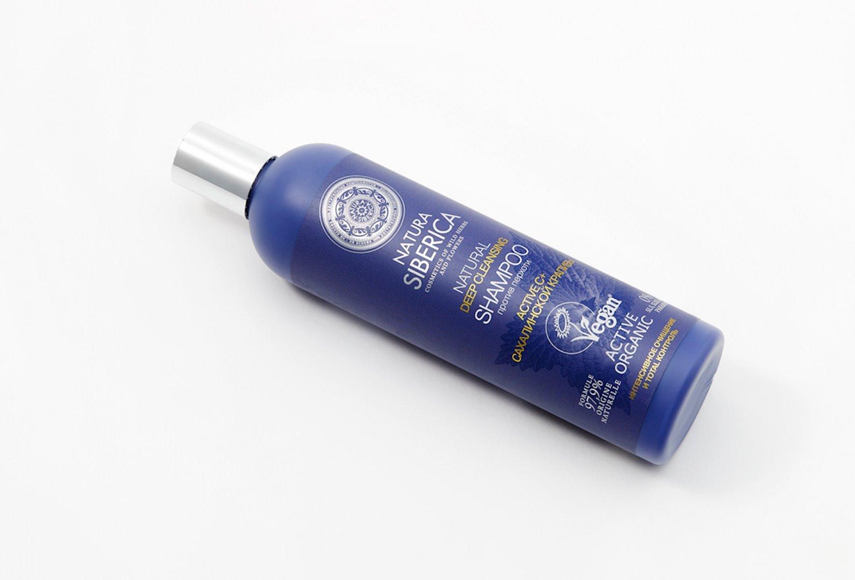 Şampun  Natura Siberica Deep cleansing, Kəpək Əleyhinə, 400 ml