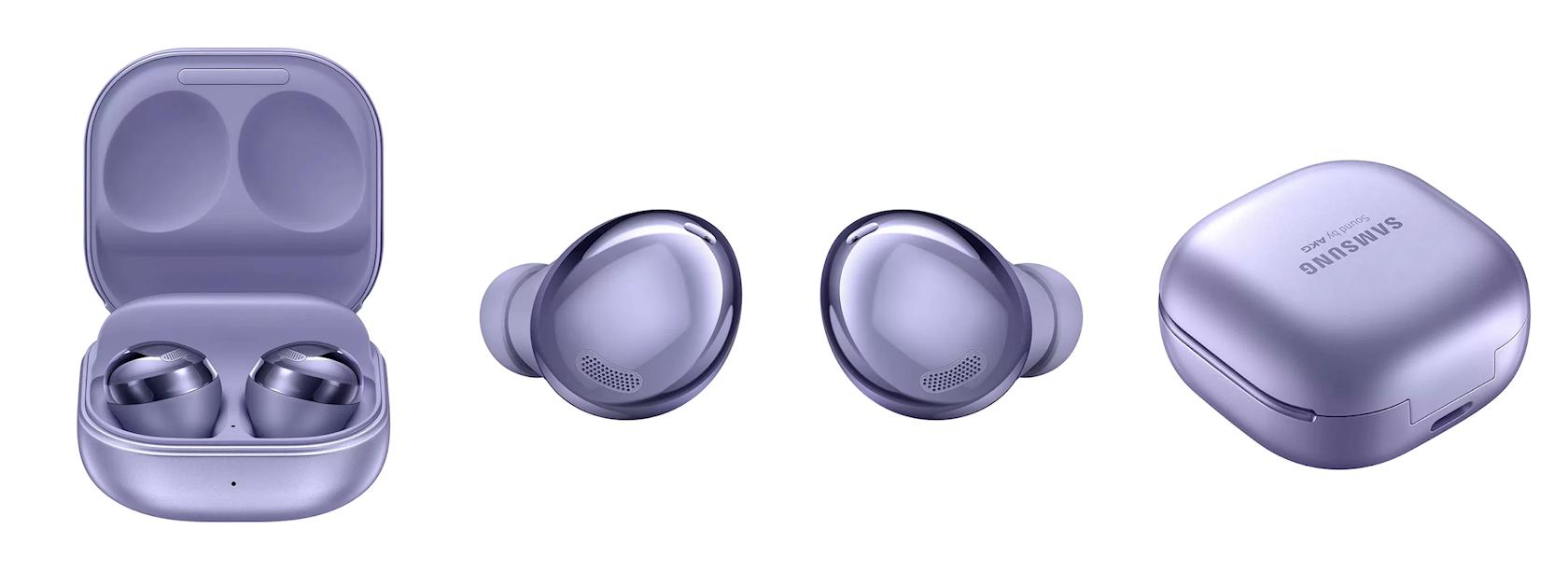 Simsiz qulaqlıqlar Samsung Galaxy Buds Pro Violet