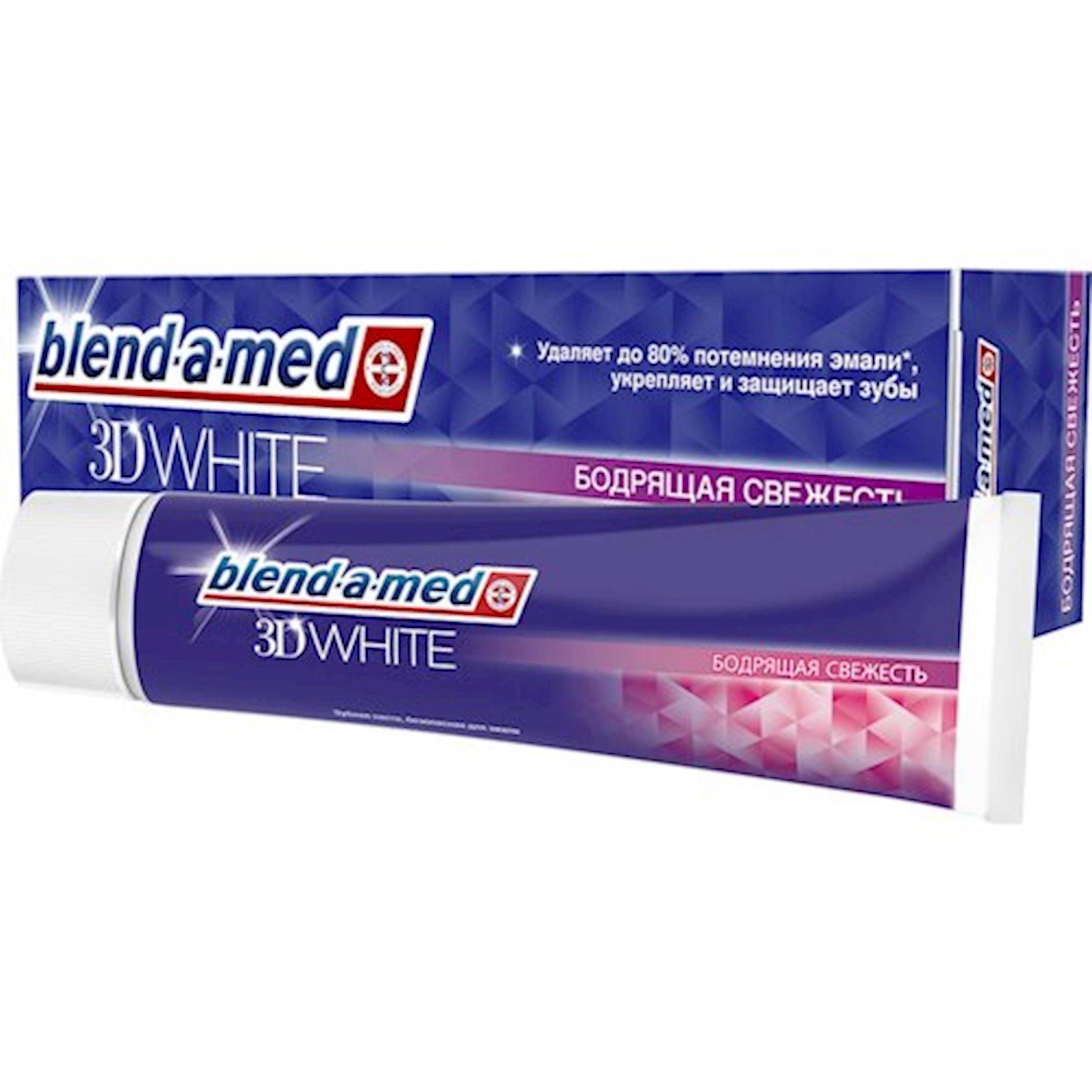 Diş məcunu Blend-A-Med 3D White Canlandırıcı Təravət 100 ml