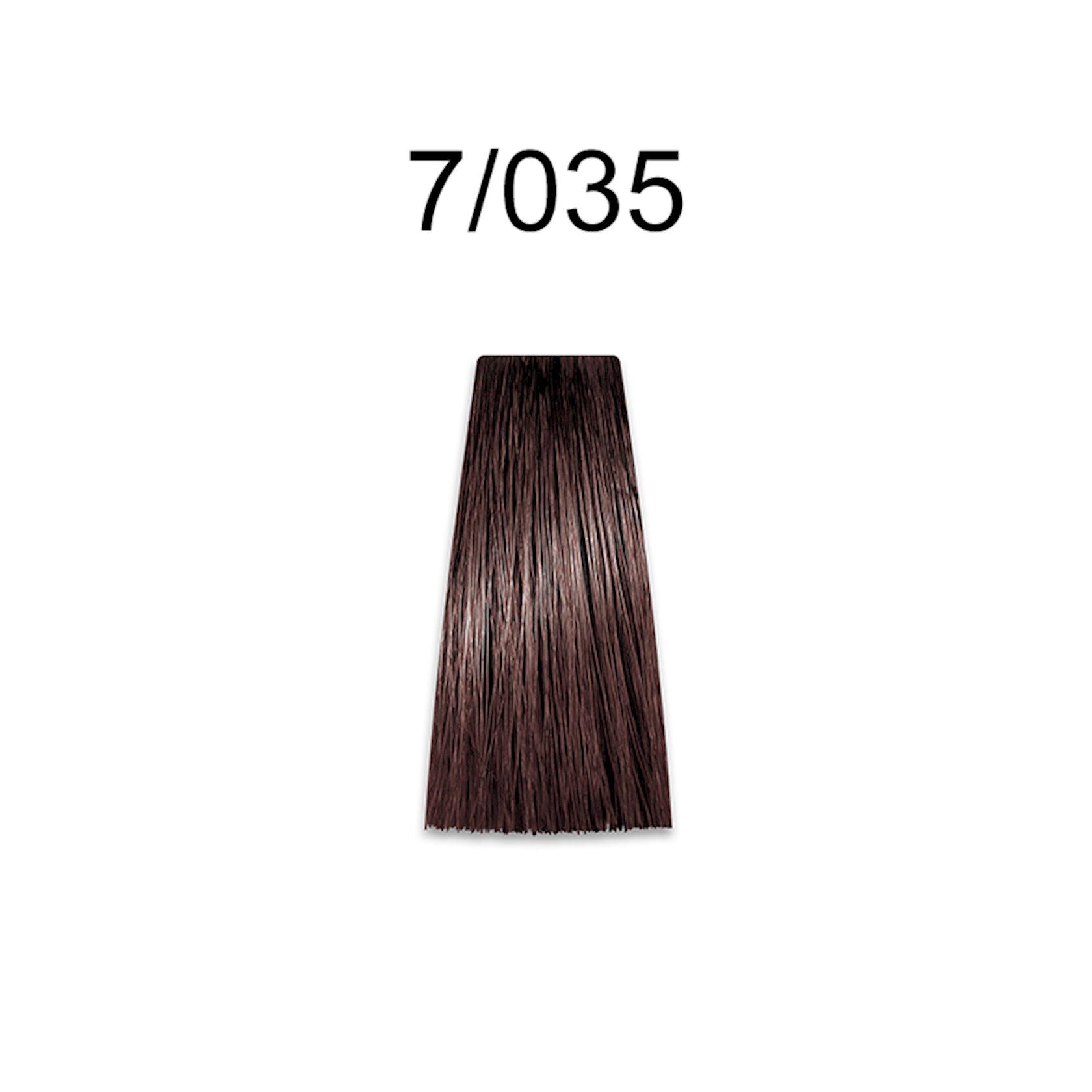 Saçlar üçün krem-boya Prosalon Professional Intensis Color Art № 7-035 golden nut blond 100 ml