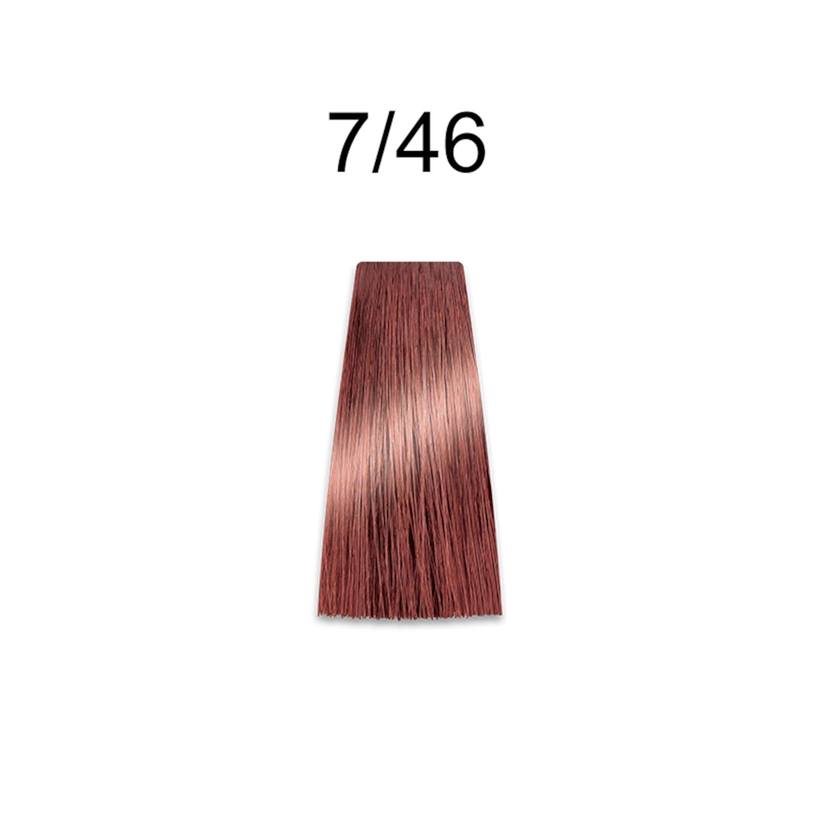 Saçlar üçün krem-boya Prosalon Professional Intensis Color Art №7-46 red copper 100 ml