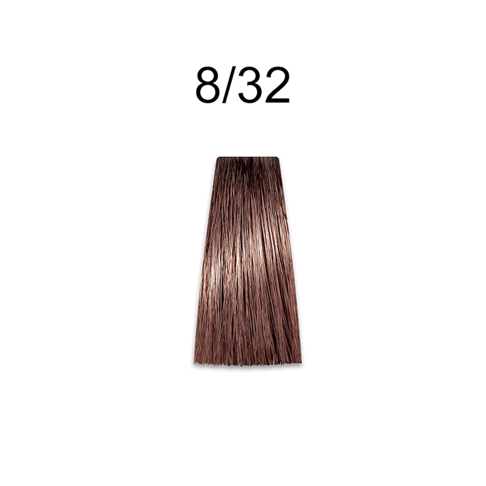 Saçlar üçün krem-boya Prosalon Professional Intensis Color Art № 8-32 dark pearl 100 ml