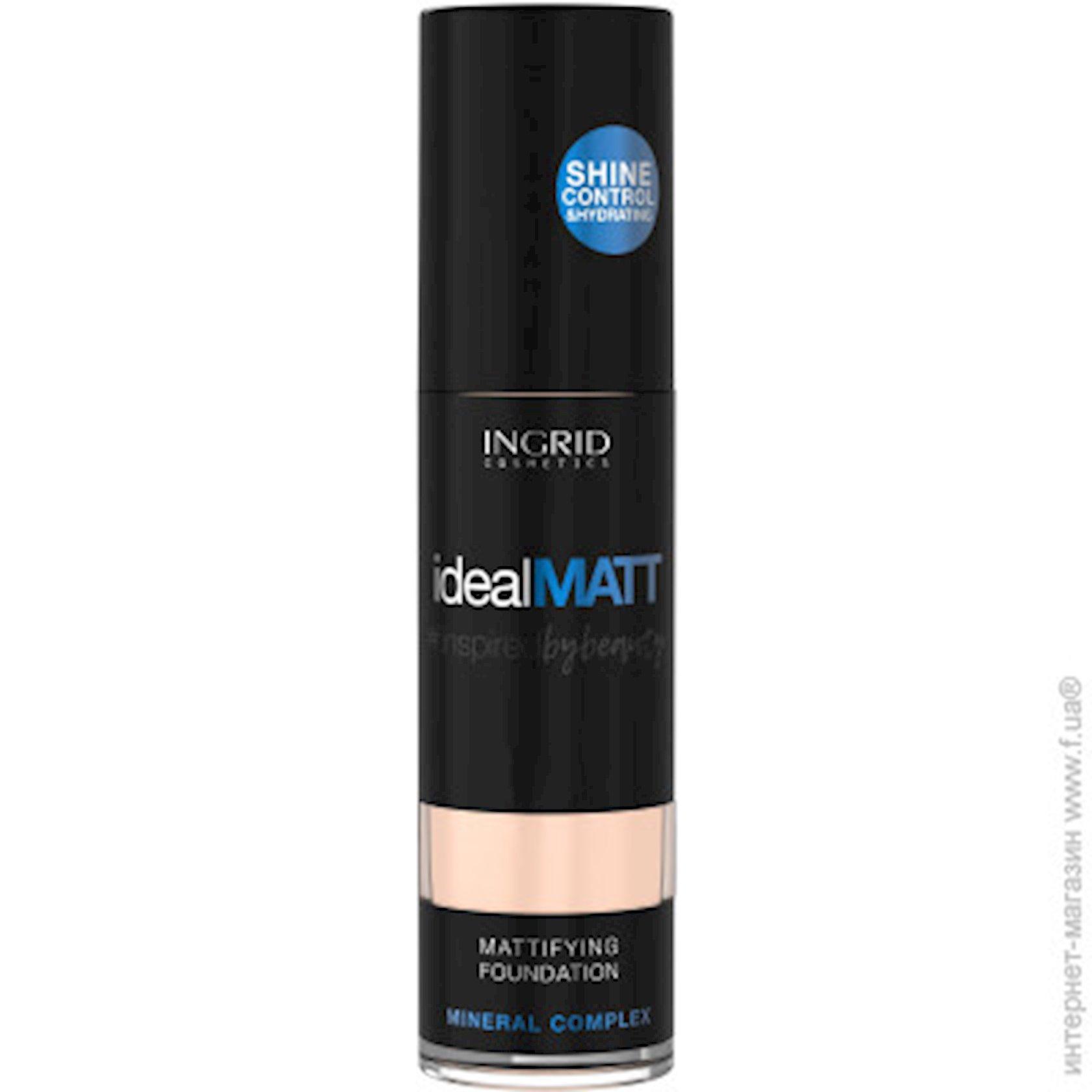 Tonal krem Ingrid Cosmetics Ideal Matt Mattifying Foundation №304