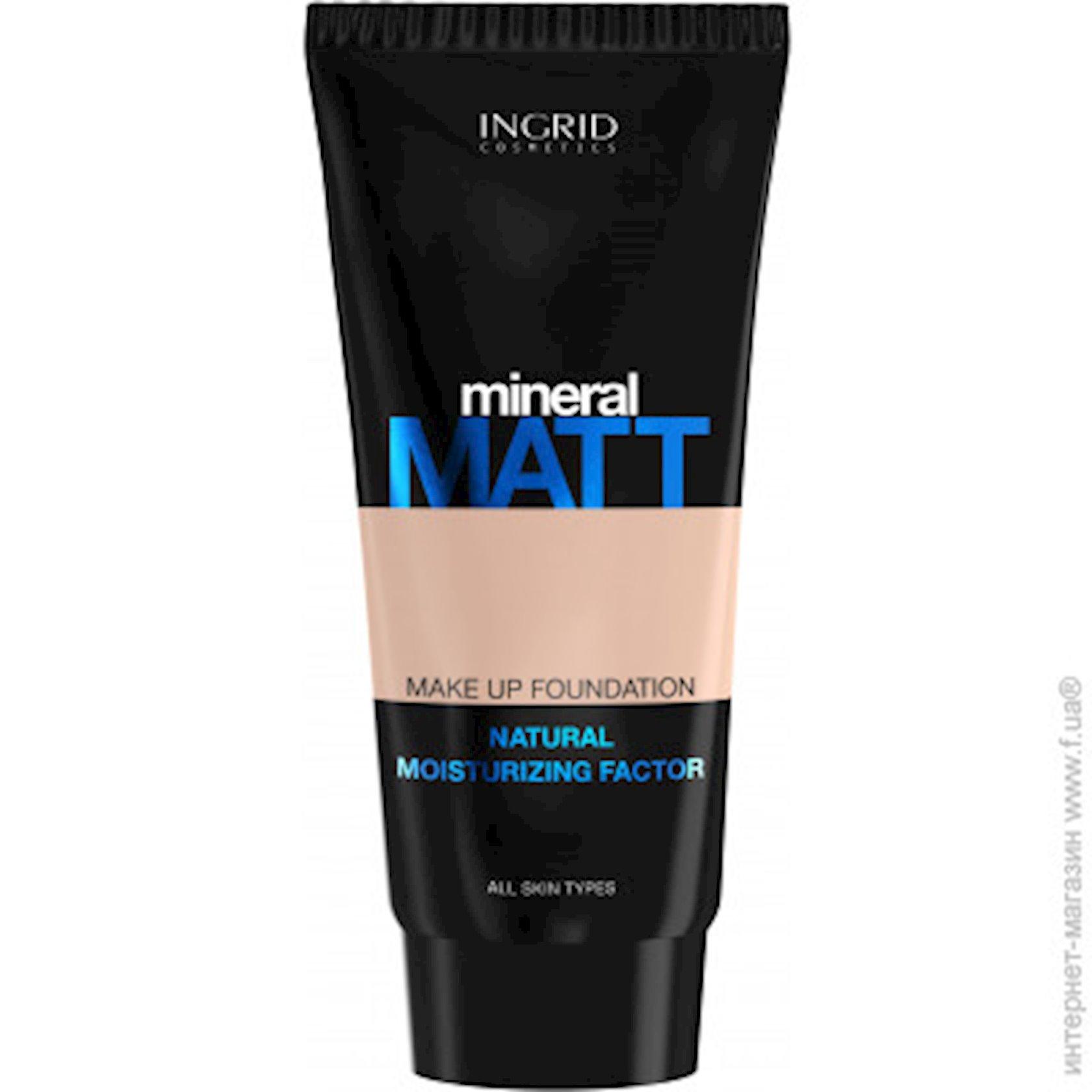 Tonal krem Ingrid Mineral Matt №303 30 ml