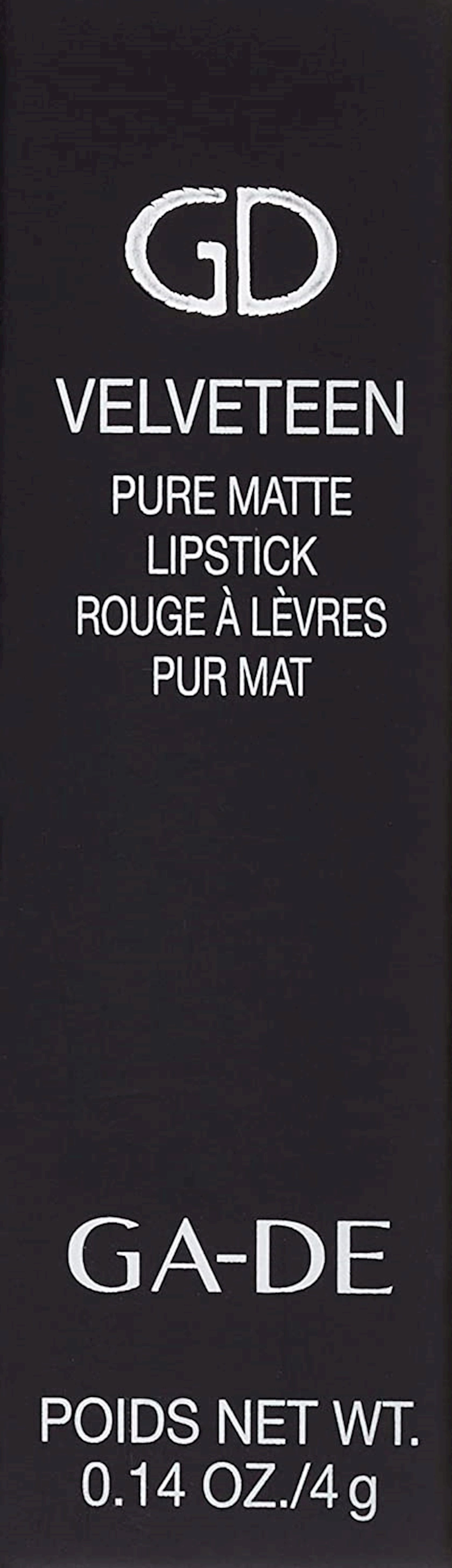 Dodaq üçün mat pomada Ga-De Velveteen Pure Matte Lipstick 762 Mauve Matte