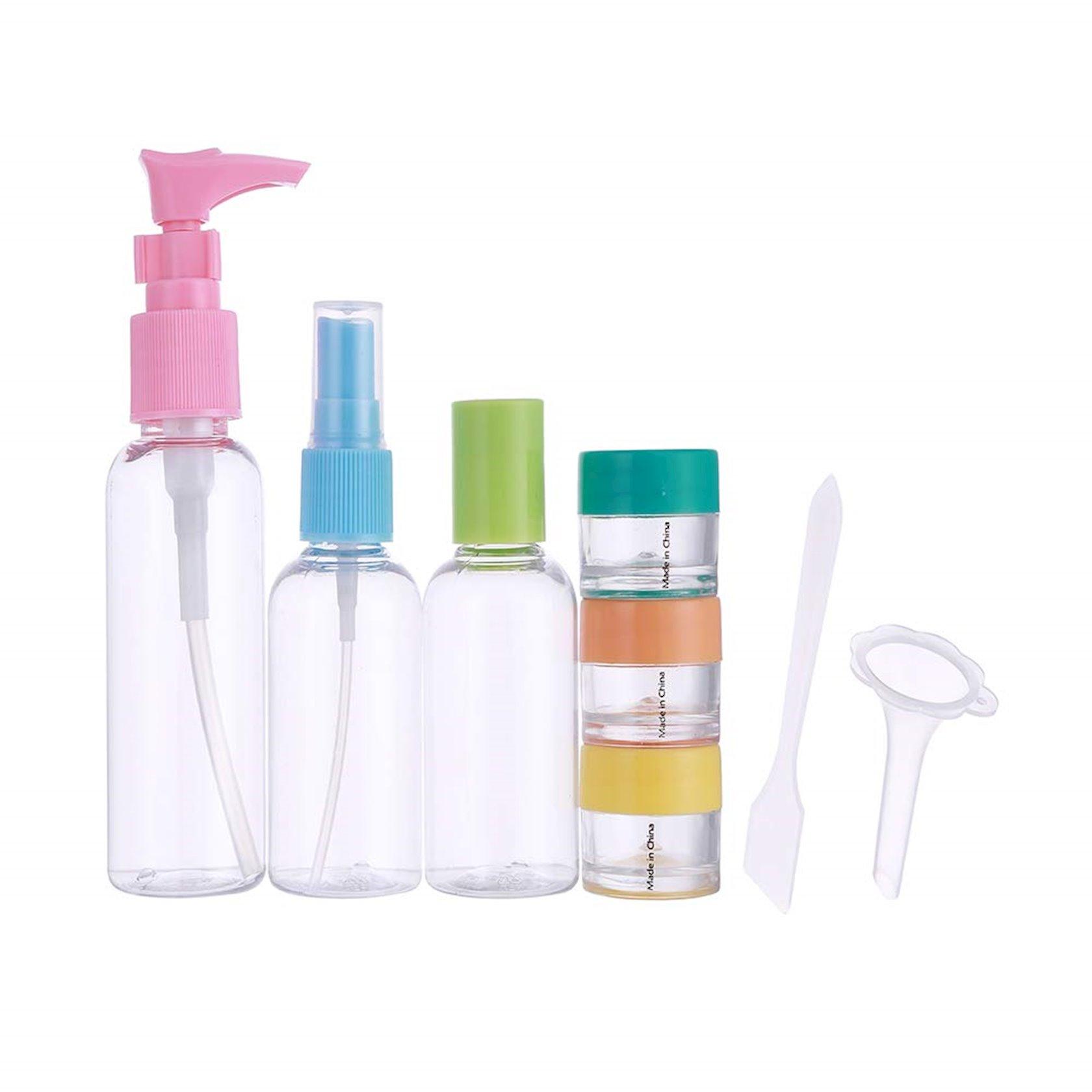 Səyahət dəsti Miniso Colorful Traveling Bottle Set, 8 əşya