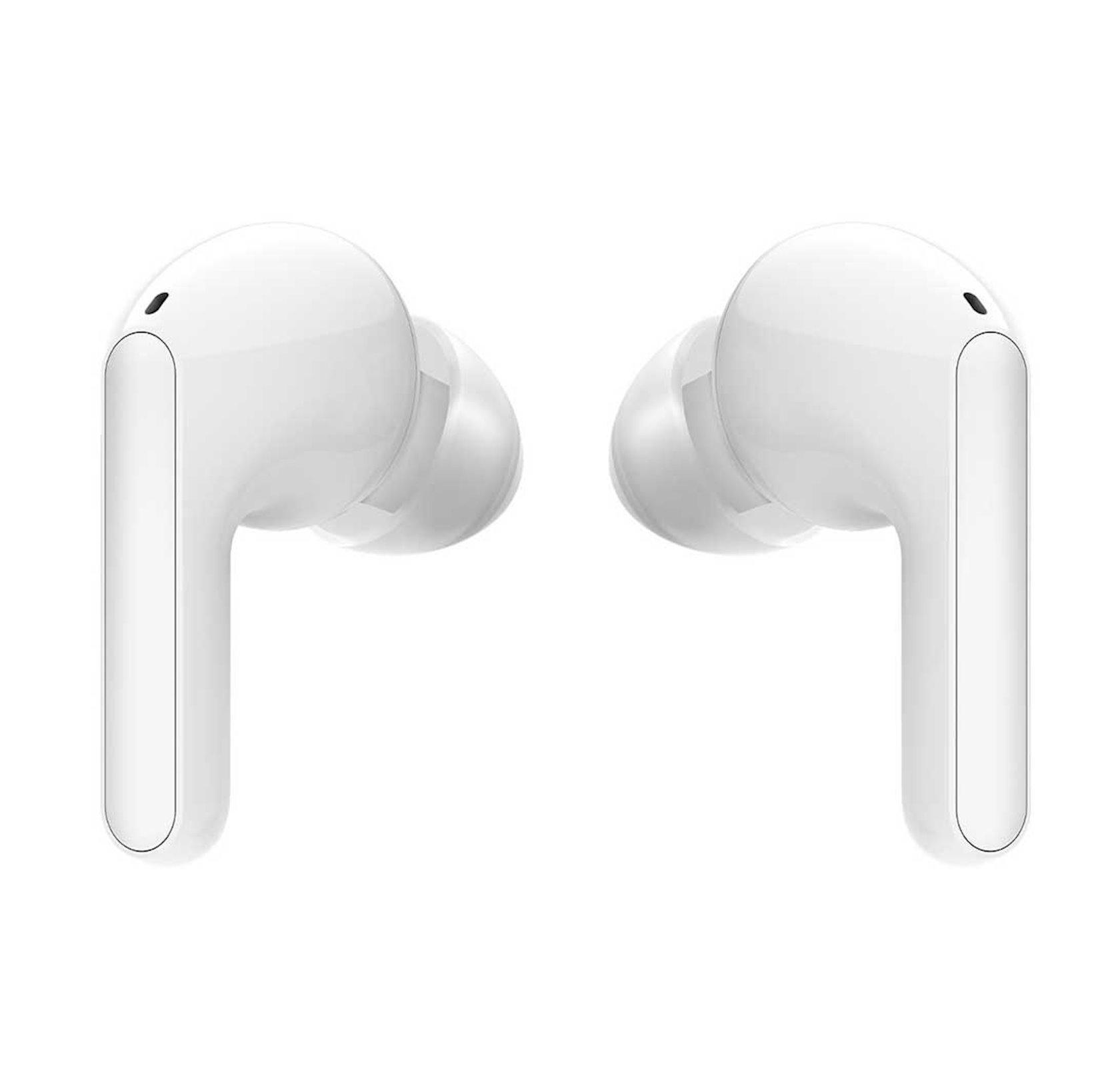 Simsiz qulaqlıqlar LG Tone Free HBS-FN4 True Wireless audio texnologiyası ilə Meridian, White