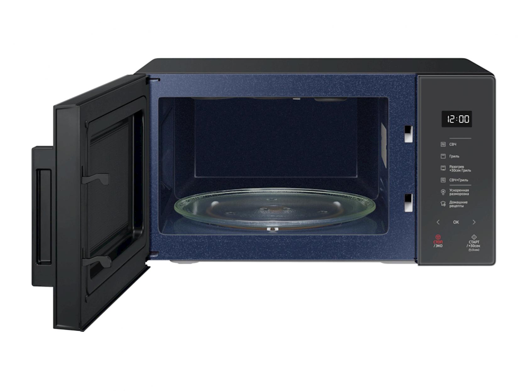 Микроволновая печь с грилем Samsung MG23T5018AC/BW