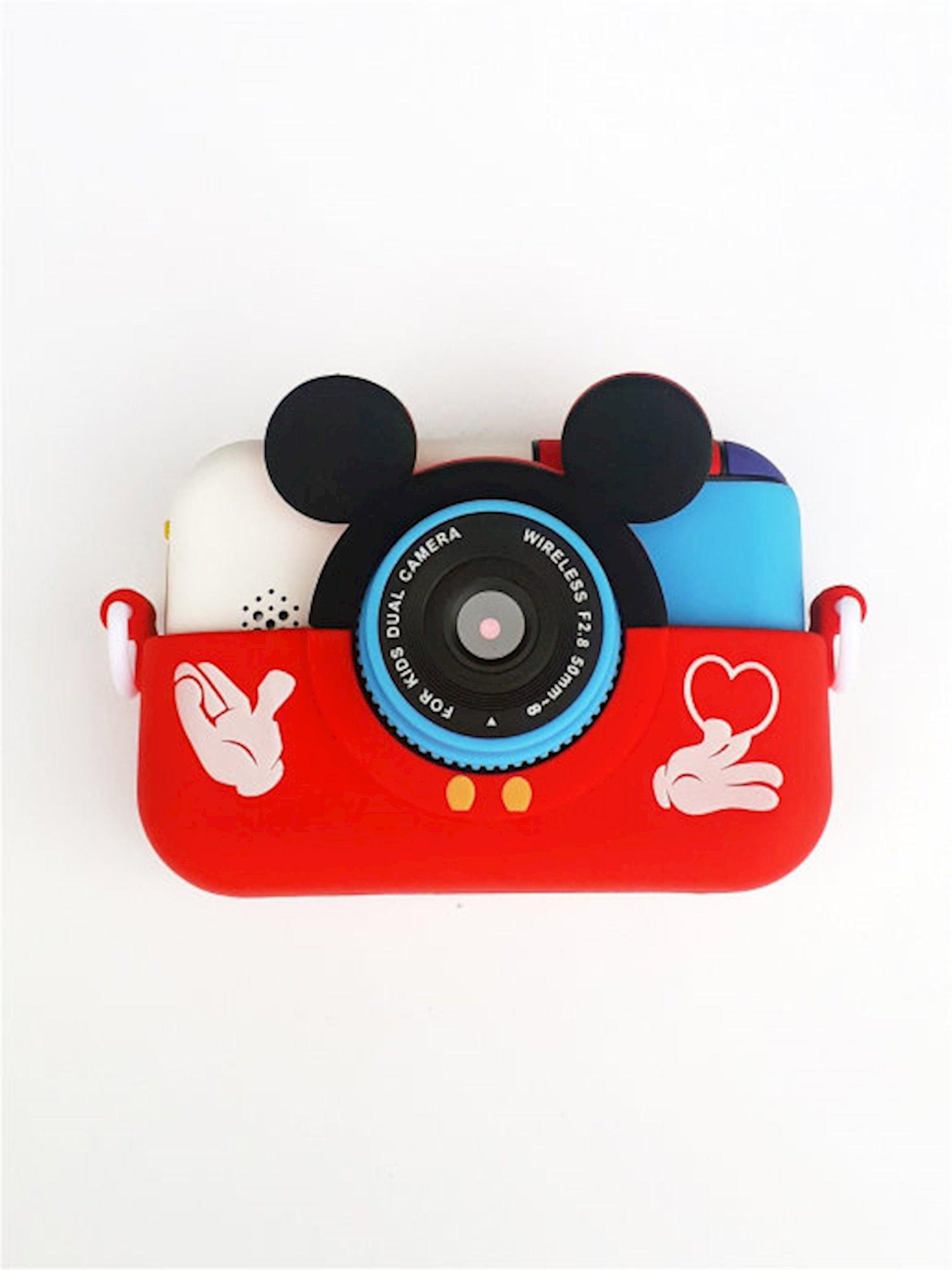 Uşaq fotoaparatı Rasik Mikki, qırmızı