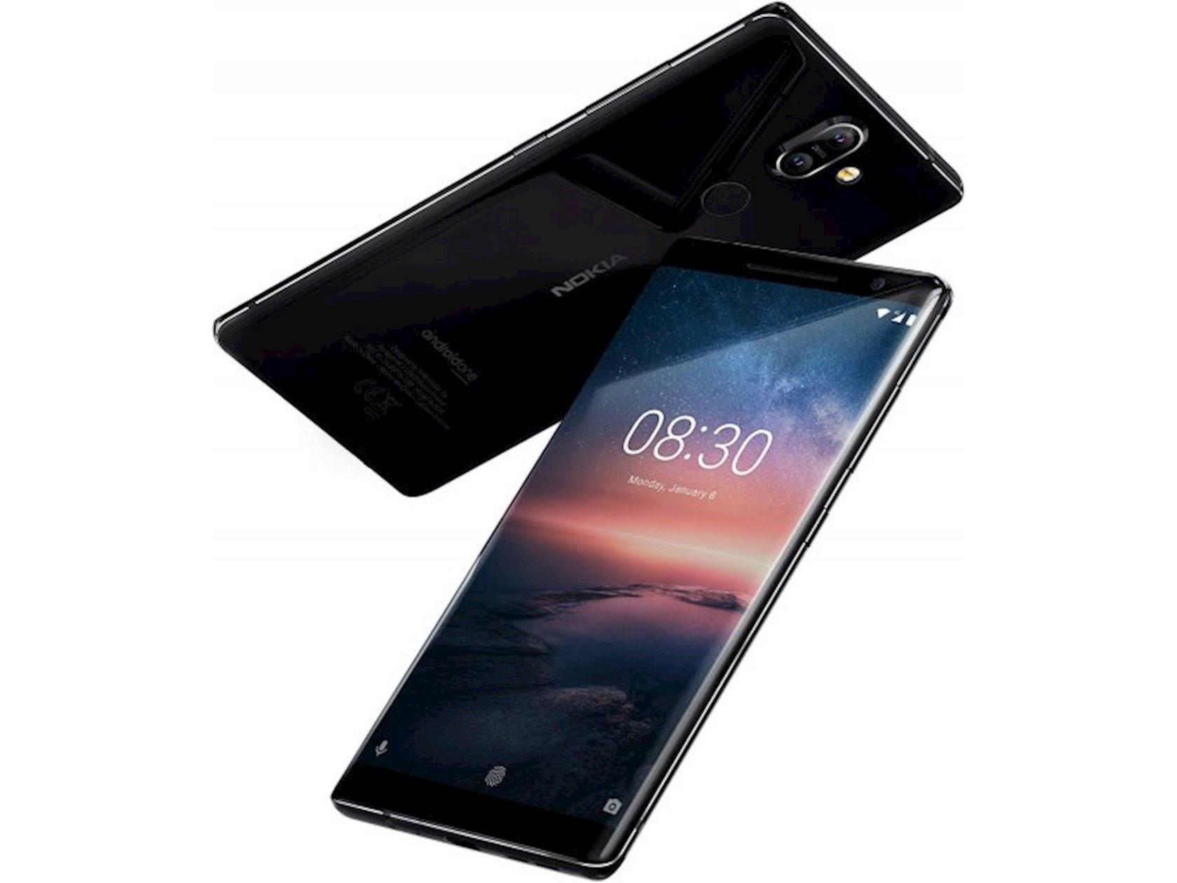 Smartfon Nokia 8 Sirocco 6GB/128GB Black