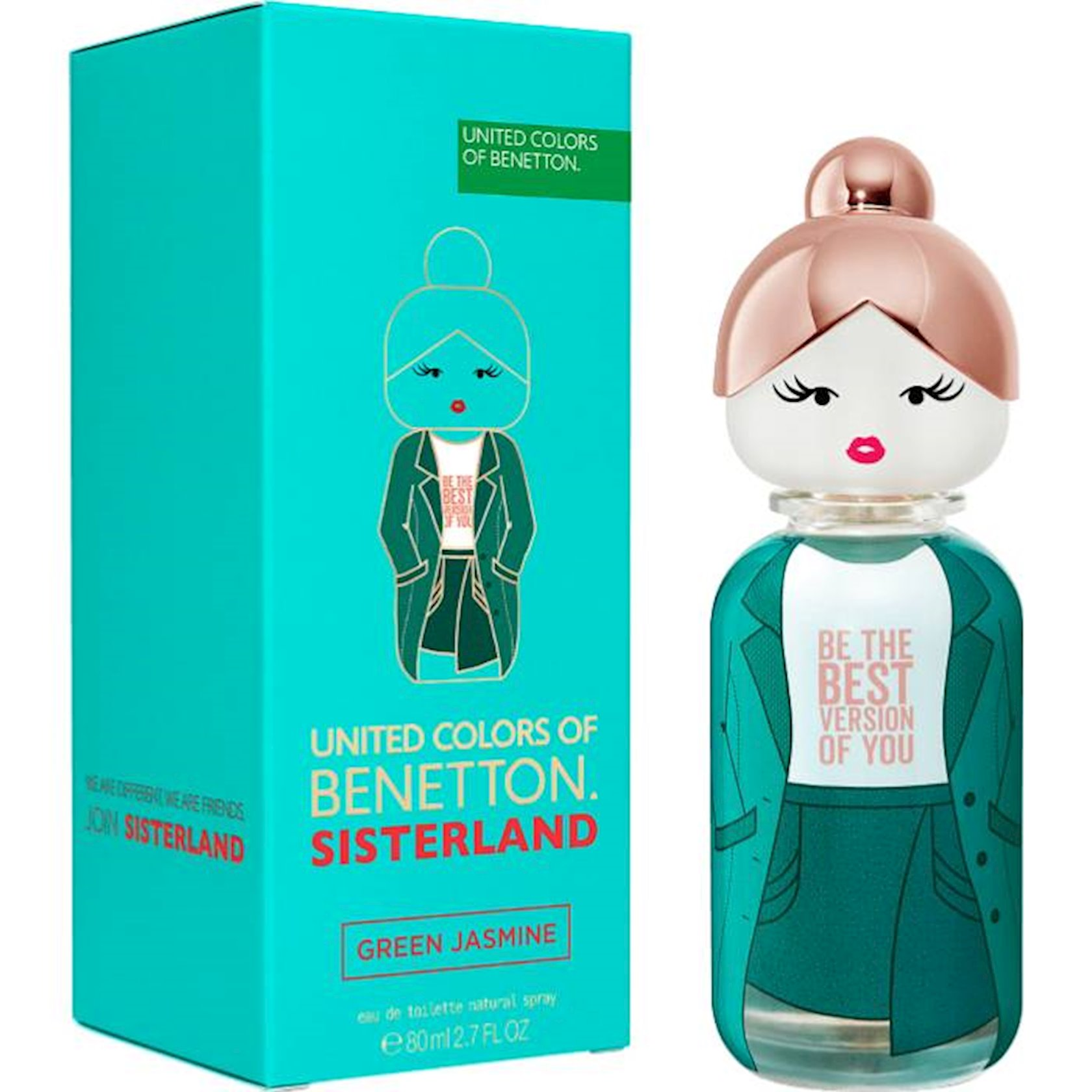 Tualet suyu Benetton Sisterland Green Jasmine 80 ml