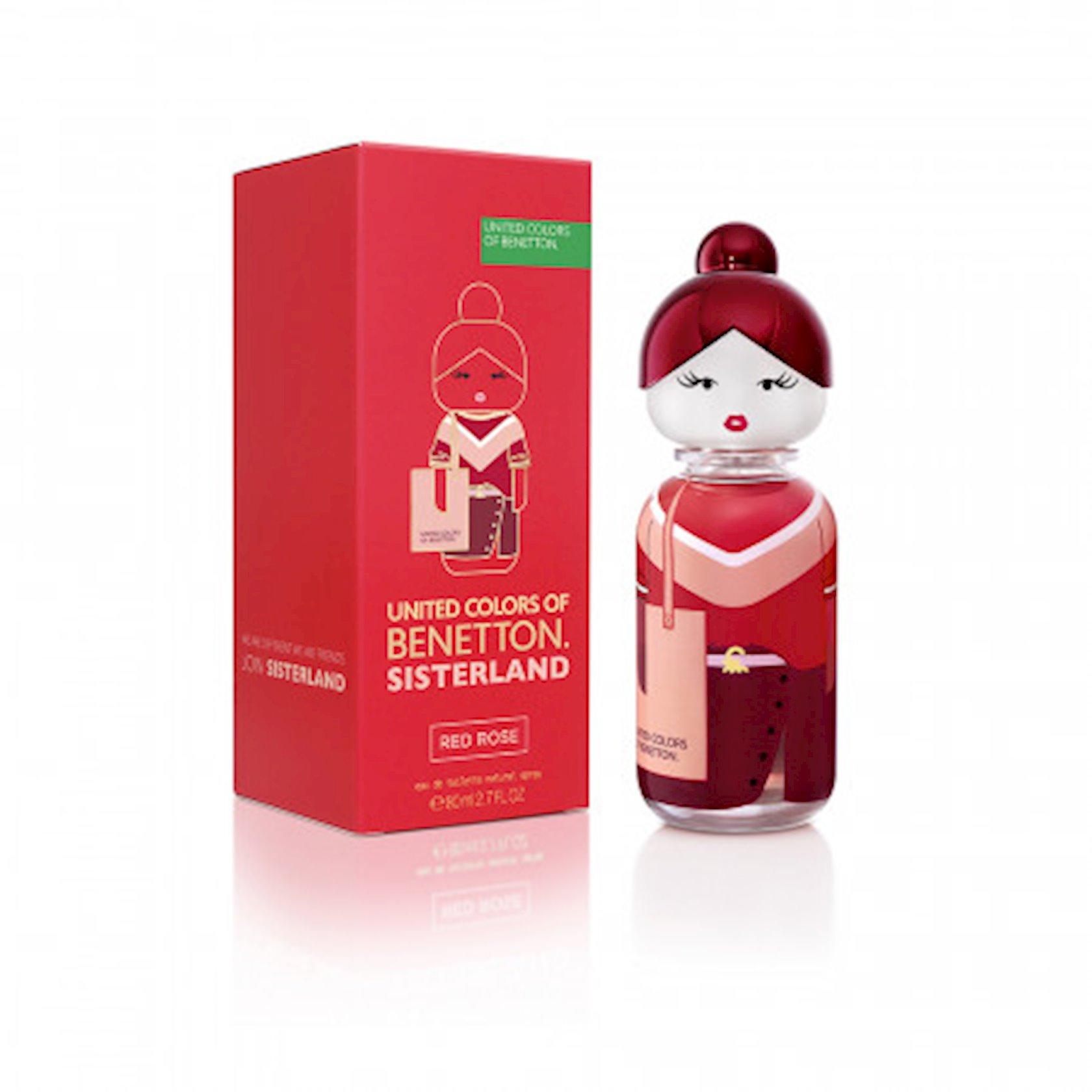Tualet suyu Benetton Sisterland Red Rose 80 ml
