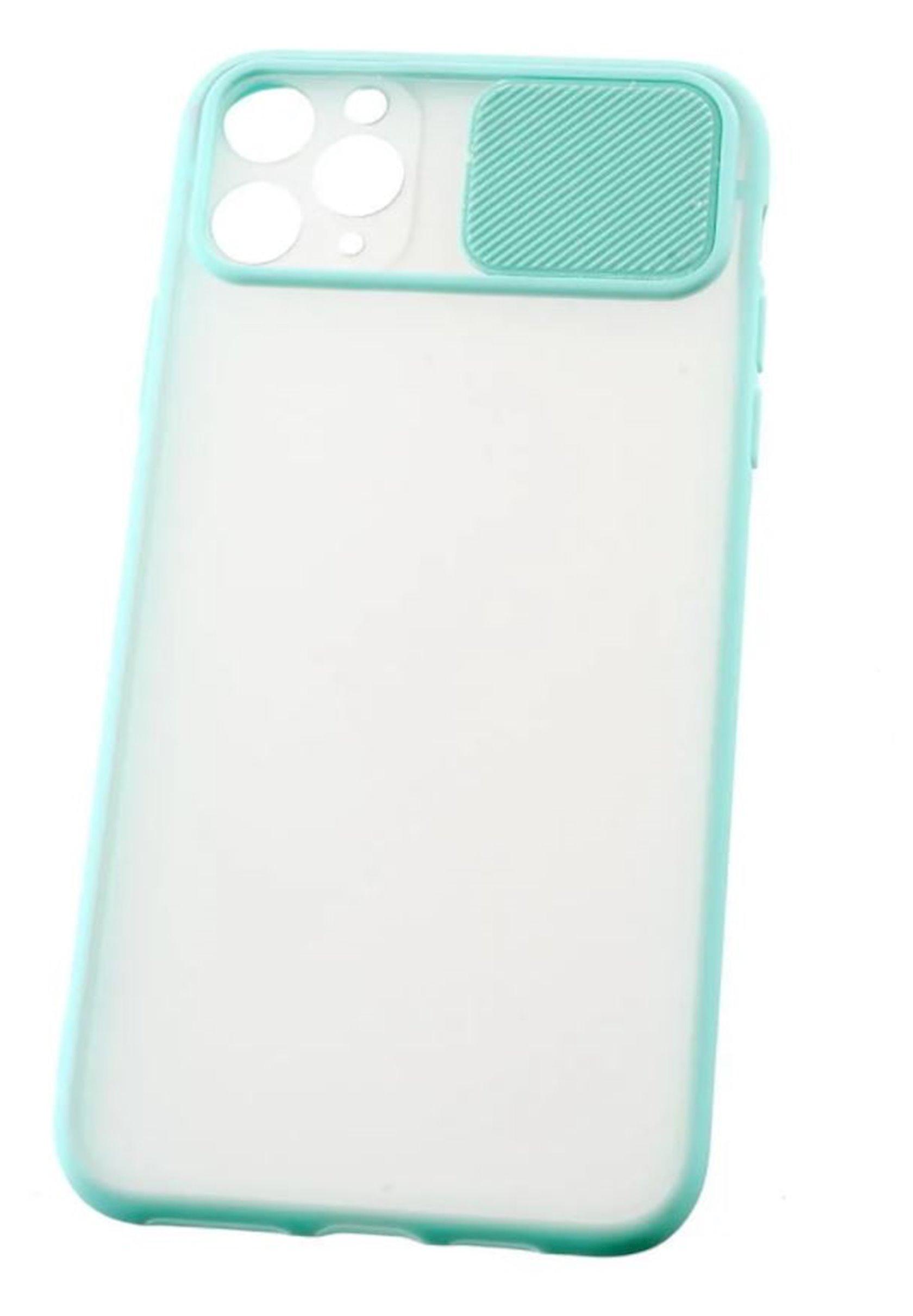 Çexol YO Camshield Color Apple iPhone 11 Pro Max üçün Light Blue