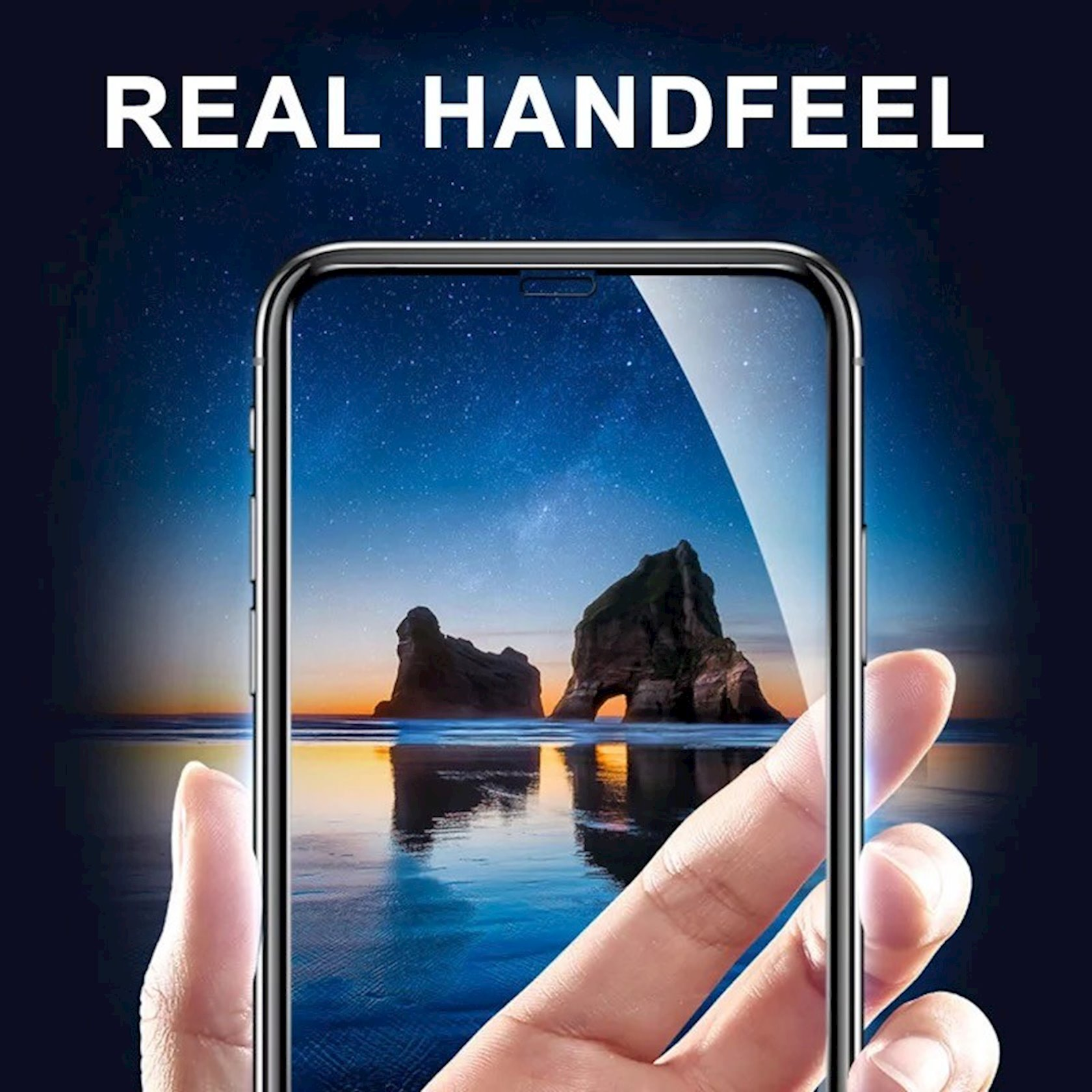 Qoruyucu şüşə OG 6D Premium Apple iPhone 7 Plus/8 Plus üçün Black