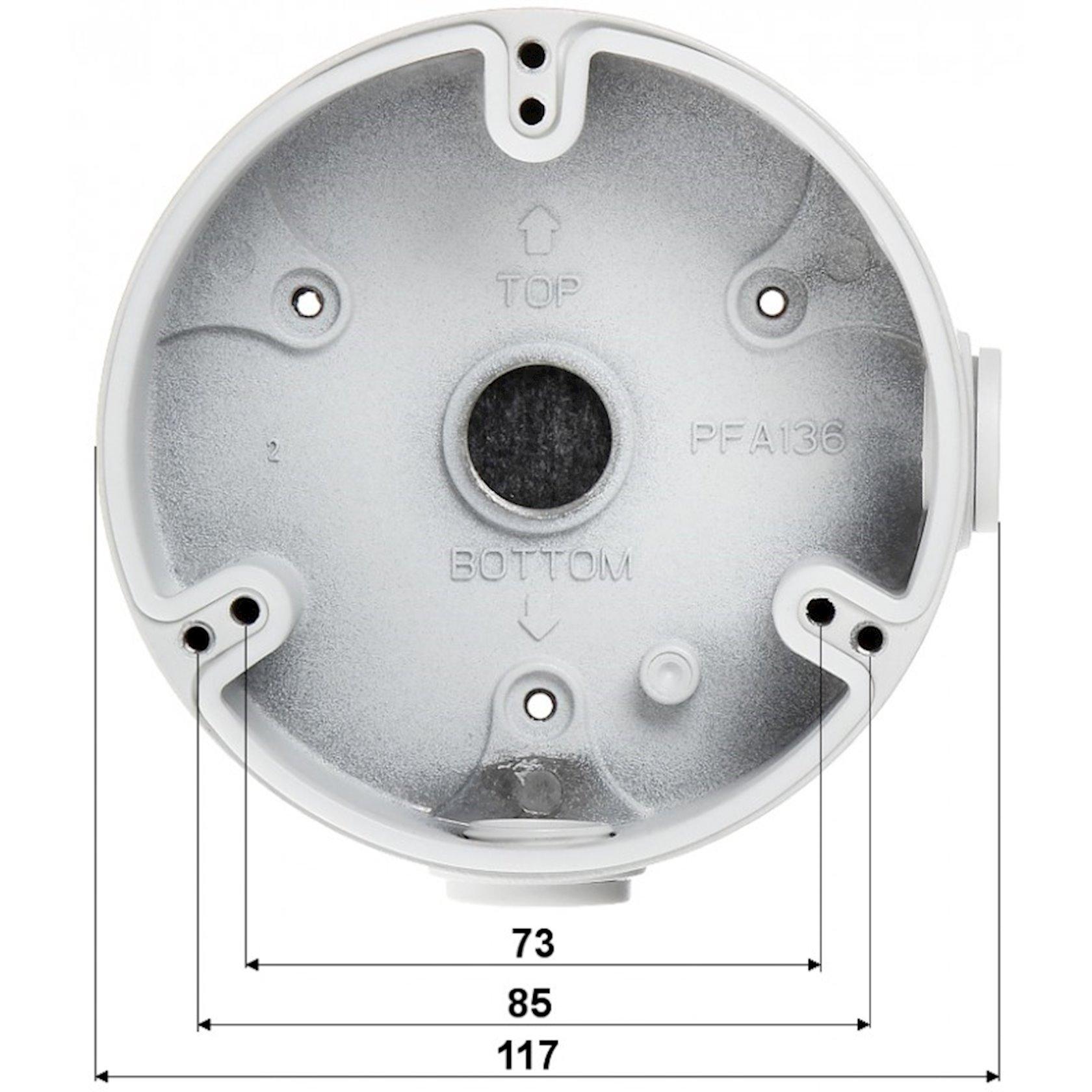 Montaj qutusu Dahua DH-PFA136