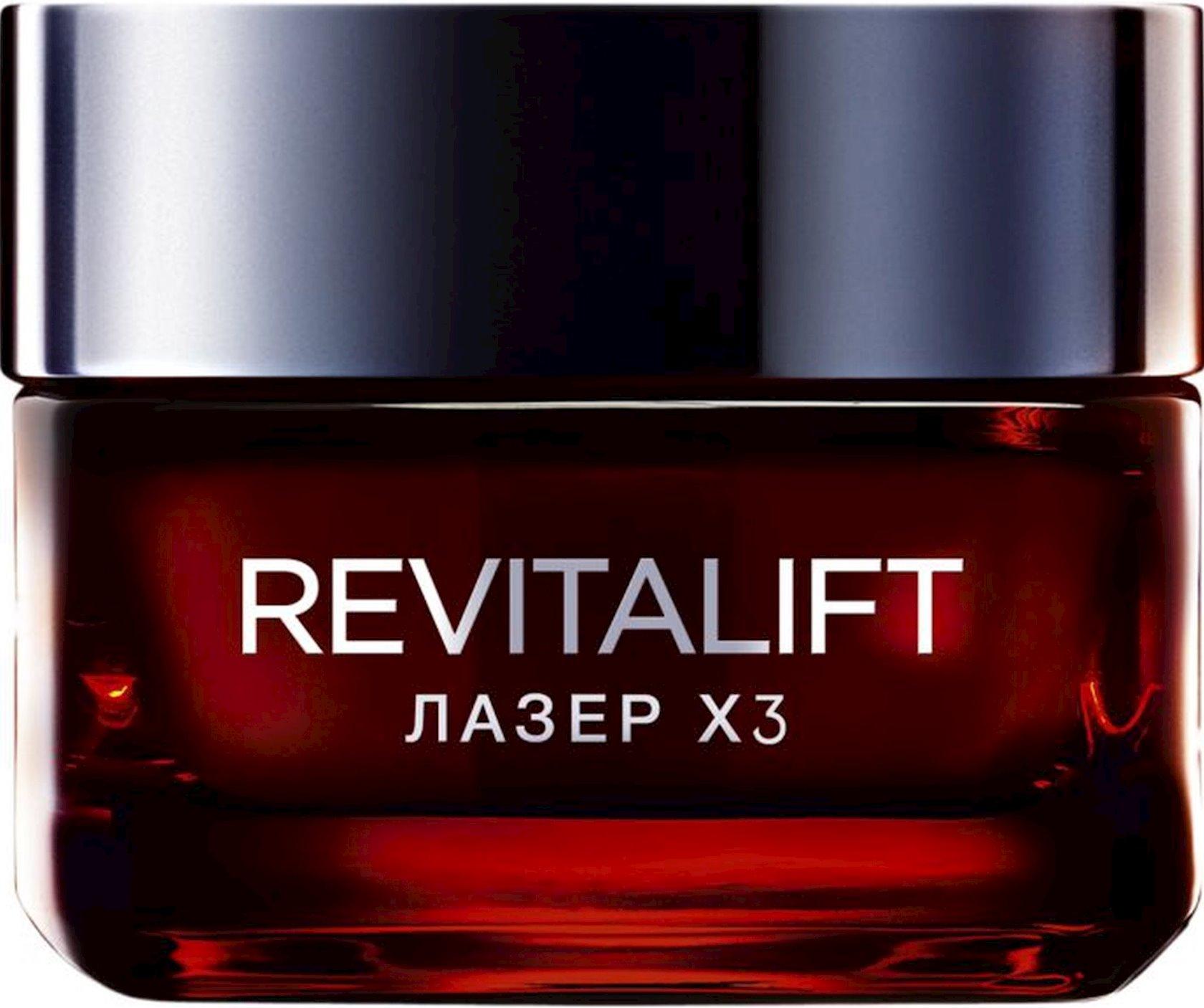 Krem L'Oreal Paris Revitalift Lazer X3 Regenerasiya edici Dərin qulluq 50 ml