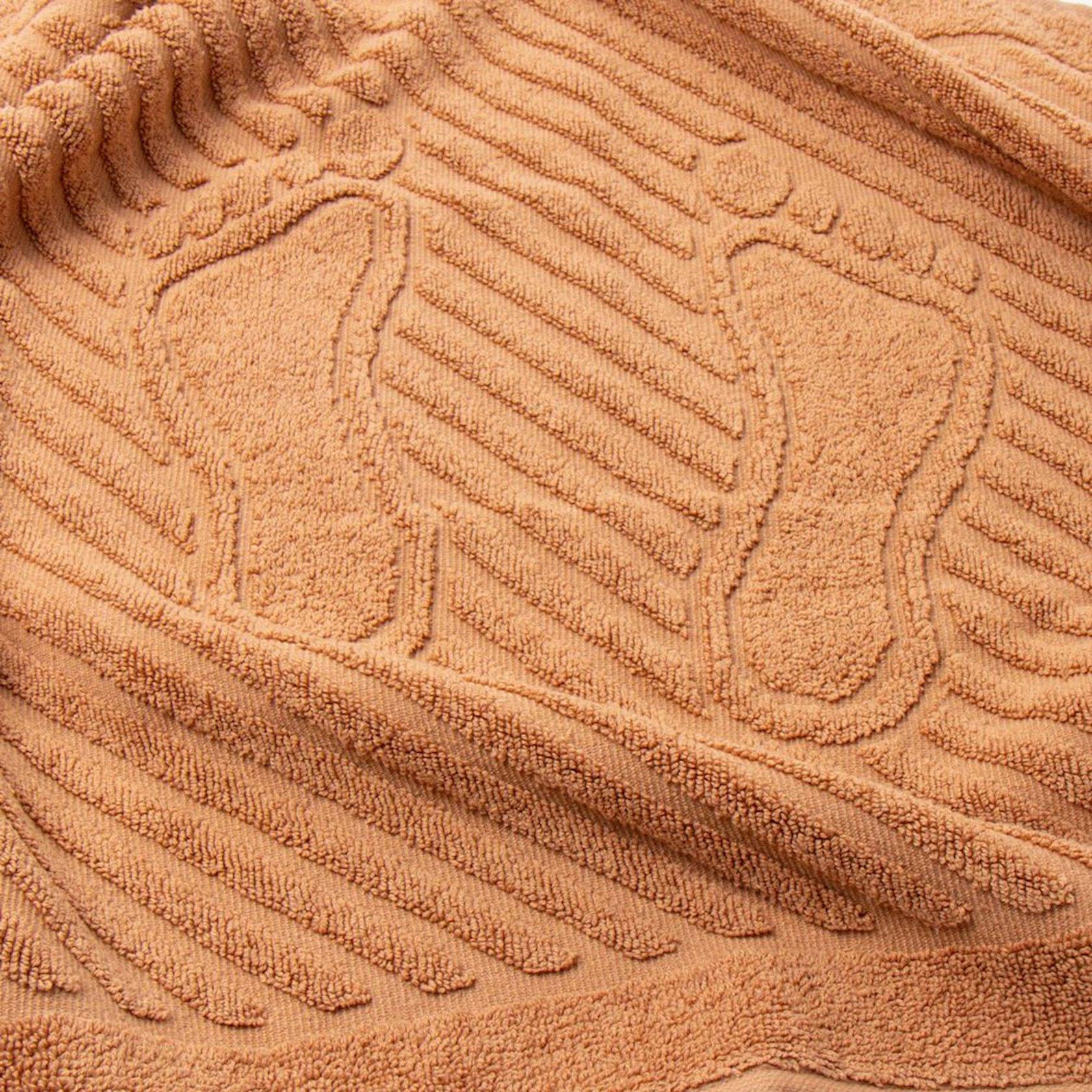 Ayaq dəsmalı ADT Camel 50x70, sıxlıq 700 qr/m²