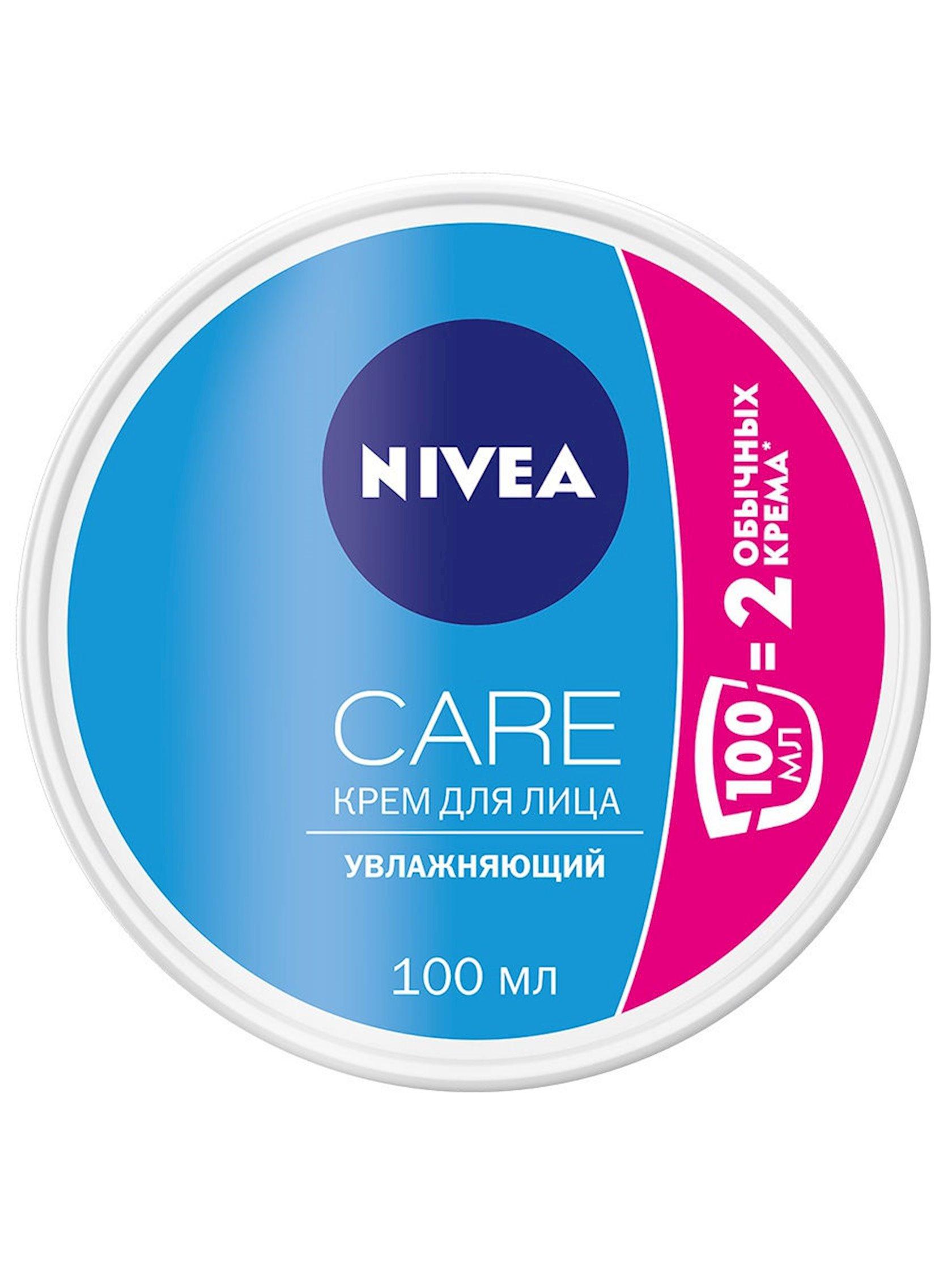 Üz kremi Nivea Care intensiv nəmləndirici şi yağı ilə bütün dəri tipləri üçün 100 ml
