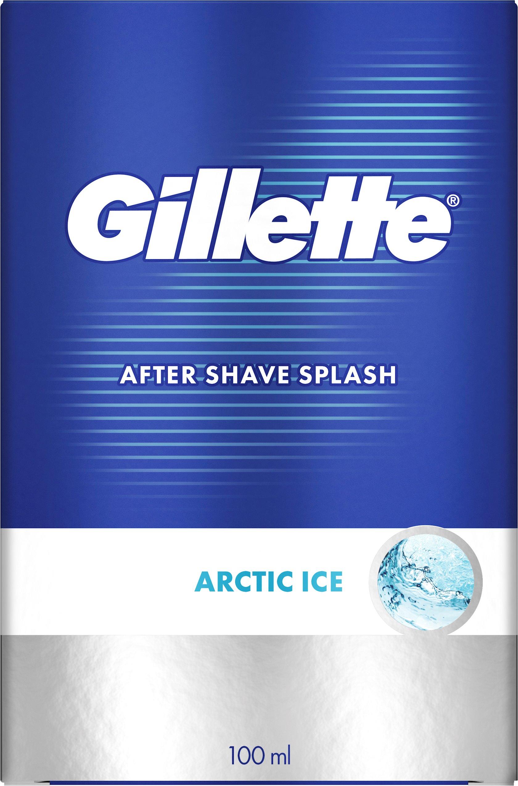 Təraş sonrası losyon Gillette Series Arctic Ice gümrahlaşdıran,100 ml