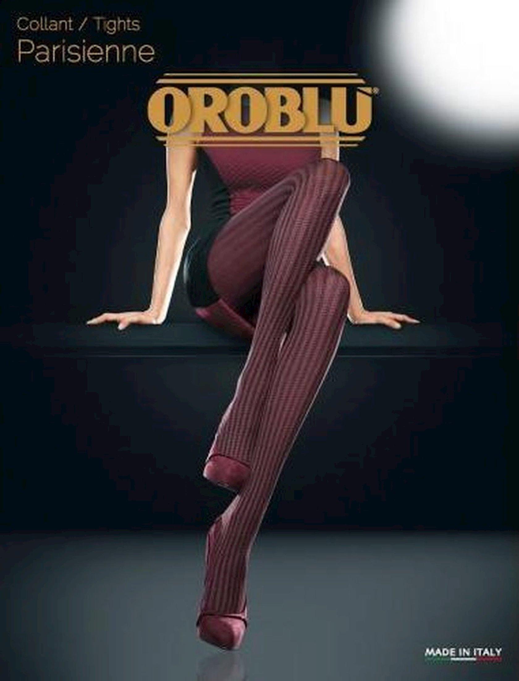 Kolqotqa Oroblu Parisienne, 50den, ölçü 4(L), Bordeaux, tünd qırmızı