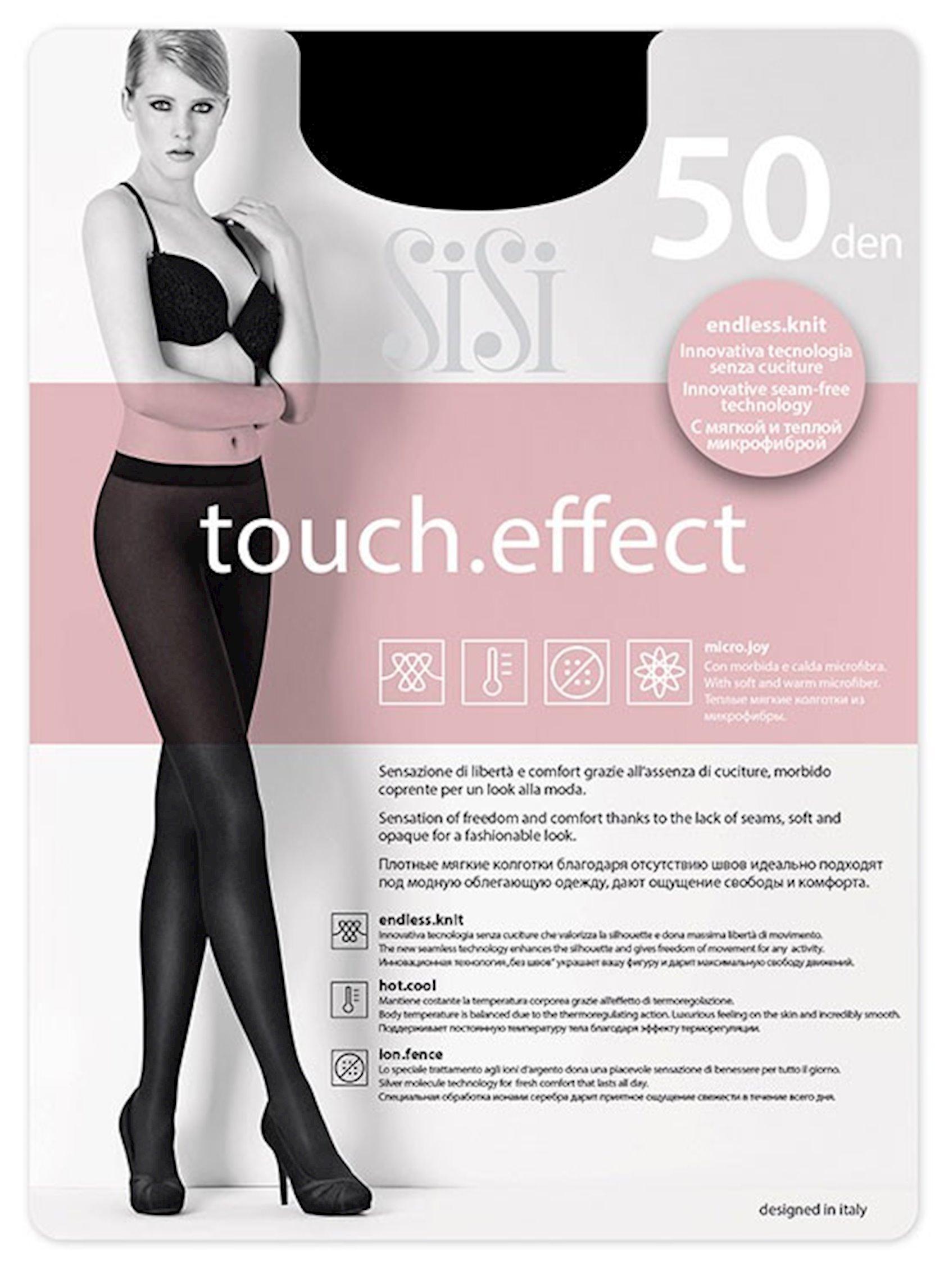Kolqotqa Sisi Touch Effect, 50den, ölçü 2(S), Moka, şokolad