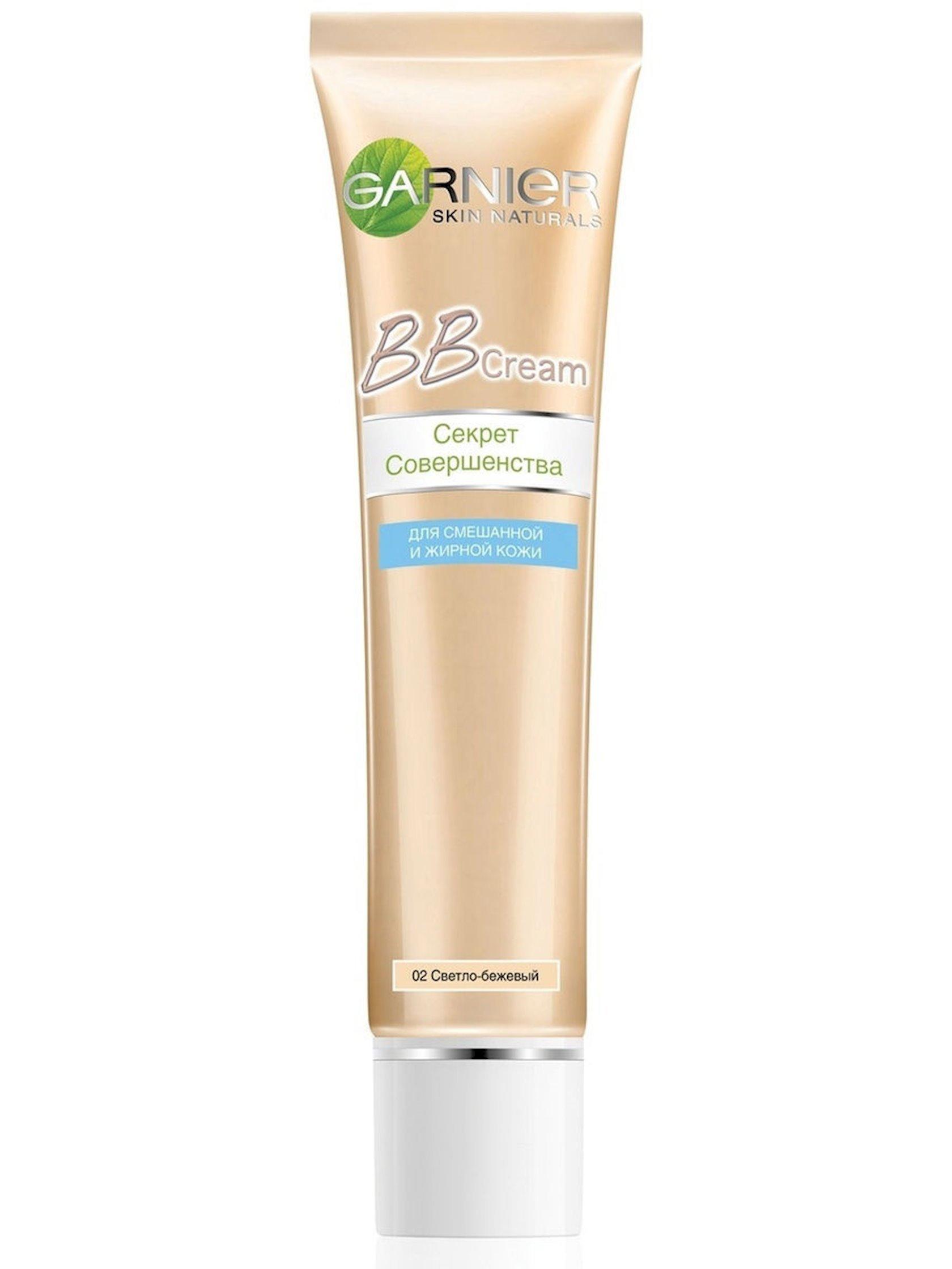 BB-krem qarışıq və yağlı dəri üçün Garnier Skin Naturals Mükəmməlliyin sirri Açıq bej 40 ml