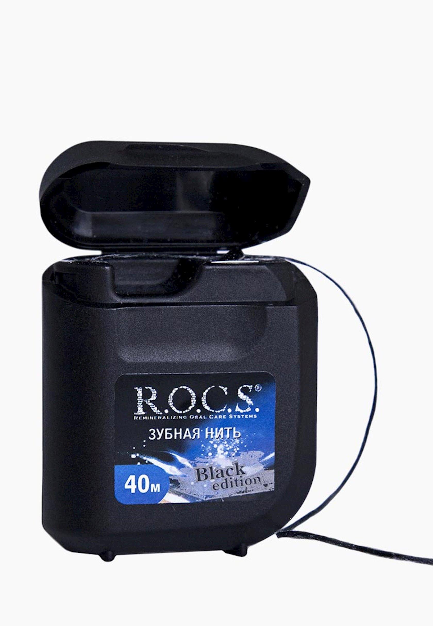 Diş ipi R.O.C.S. black edition 40m