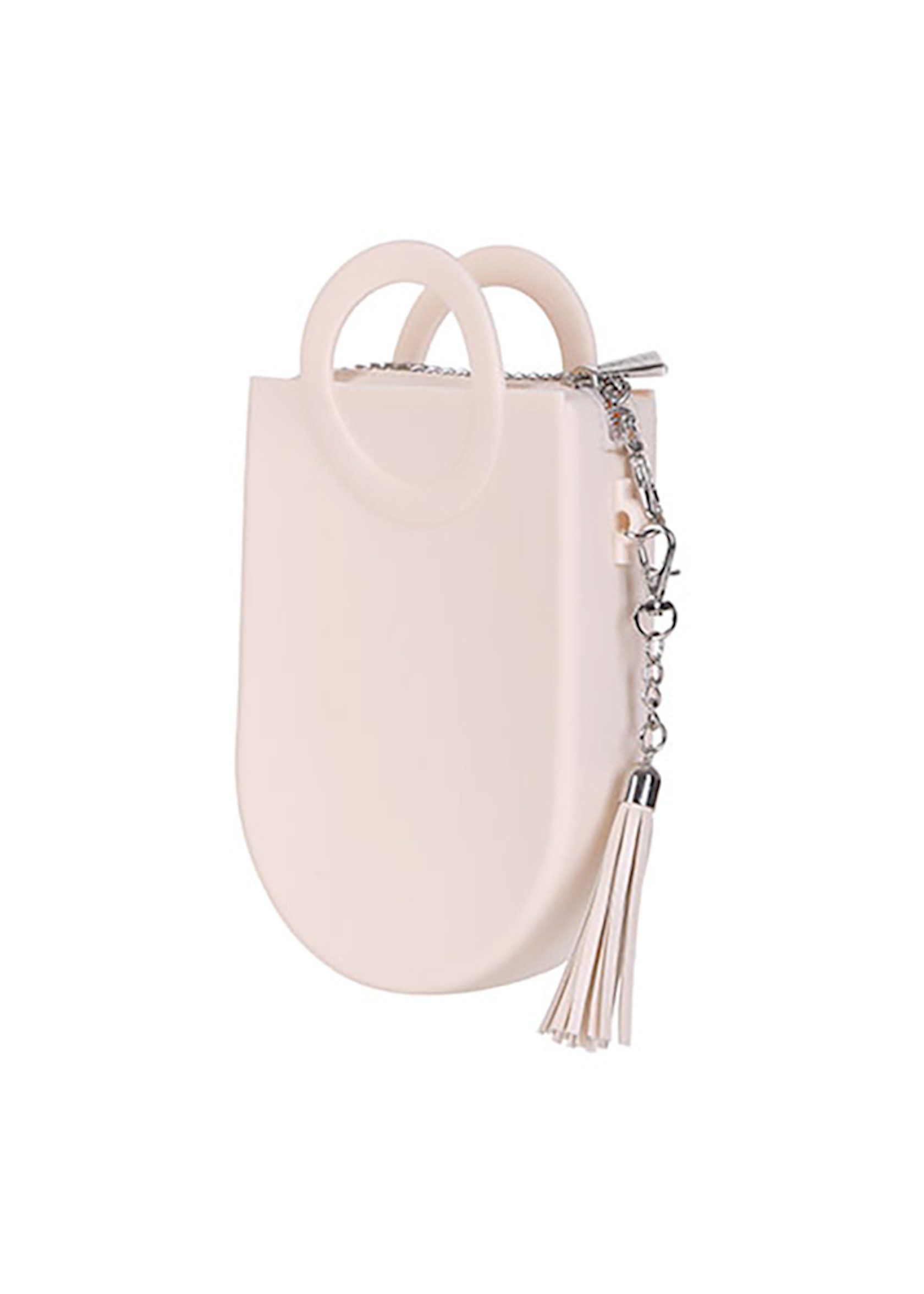 Qadın çantası Miniso Circle Handle Crossbody Bag Cream, krem