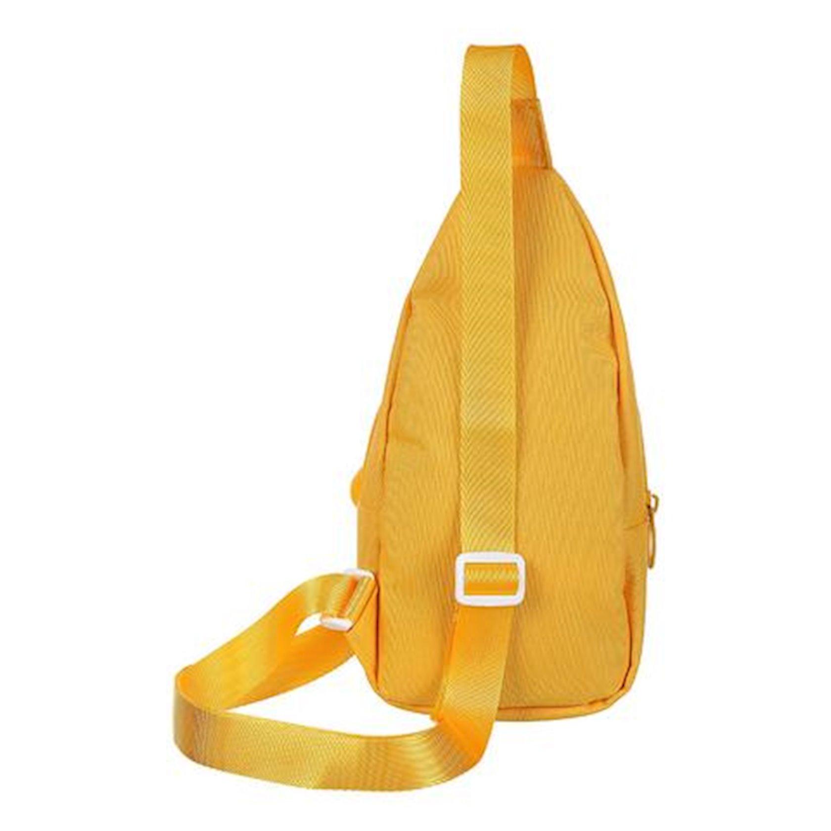 Uşaq bel çantası Miniso Chest Bag Puppy, sarı