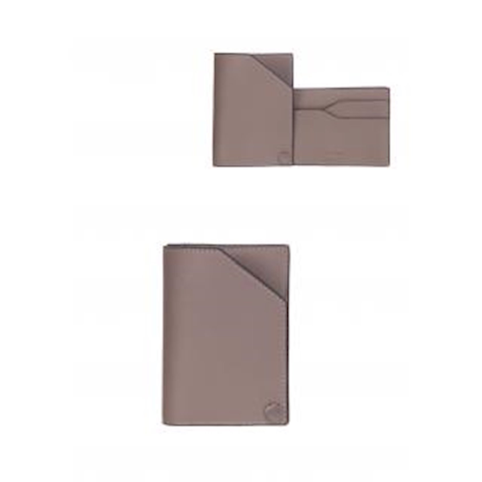Kişilər üçün kredit kartları qabı poliuretan Miniso Cardholder Wallet, Light Brown, açıq qəhvəyi