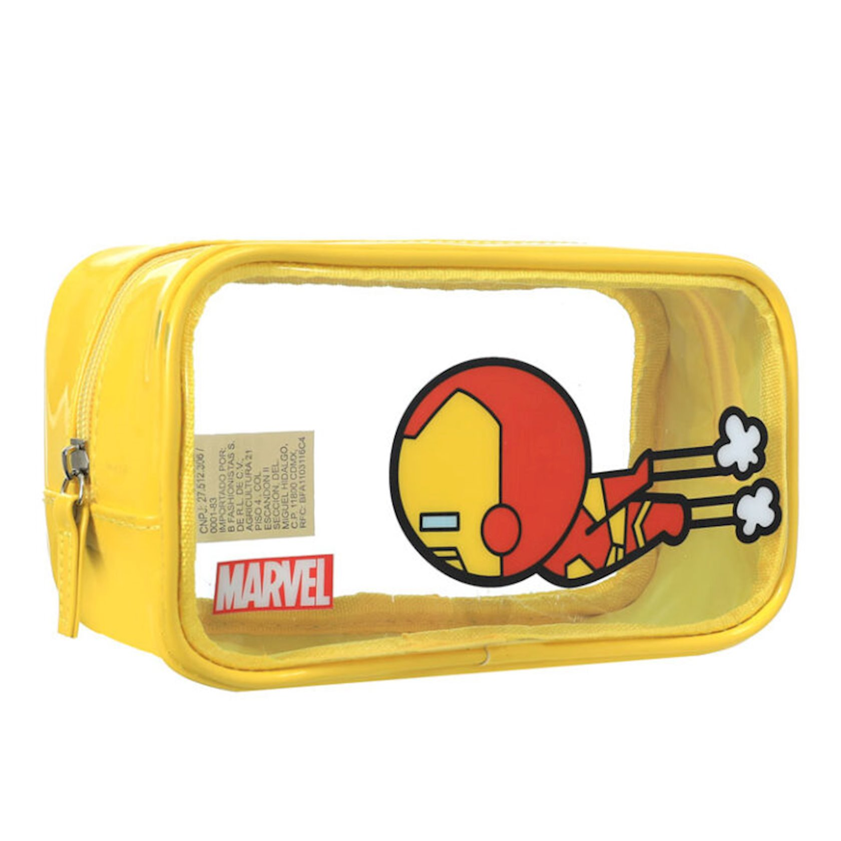Klatç Miniso Marvel Clutch Bag Iron Man, Dəmir adam, sarı