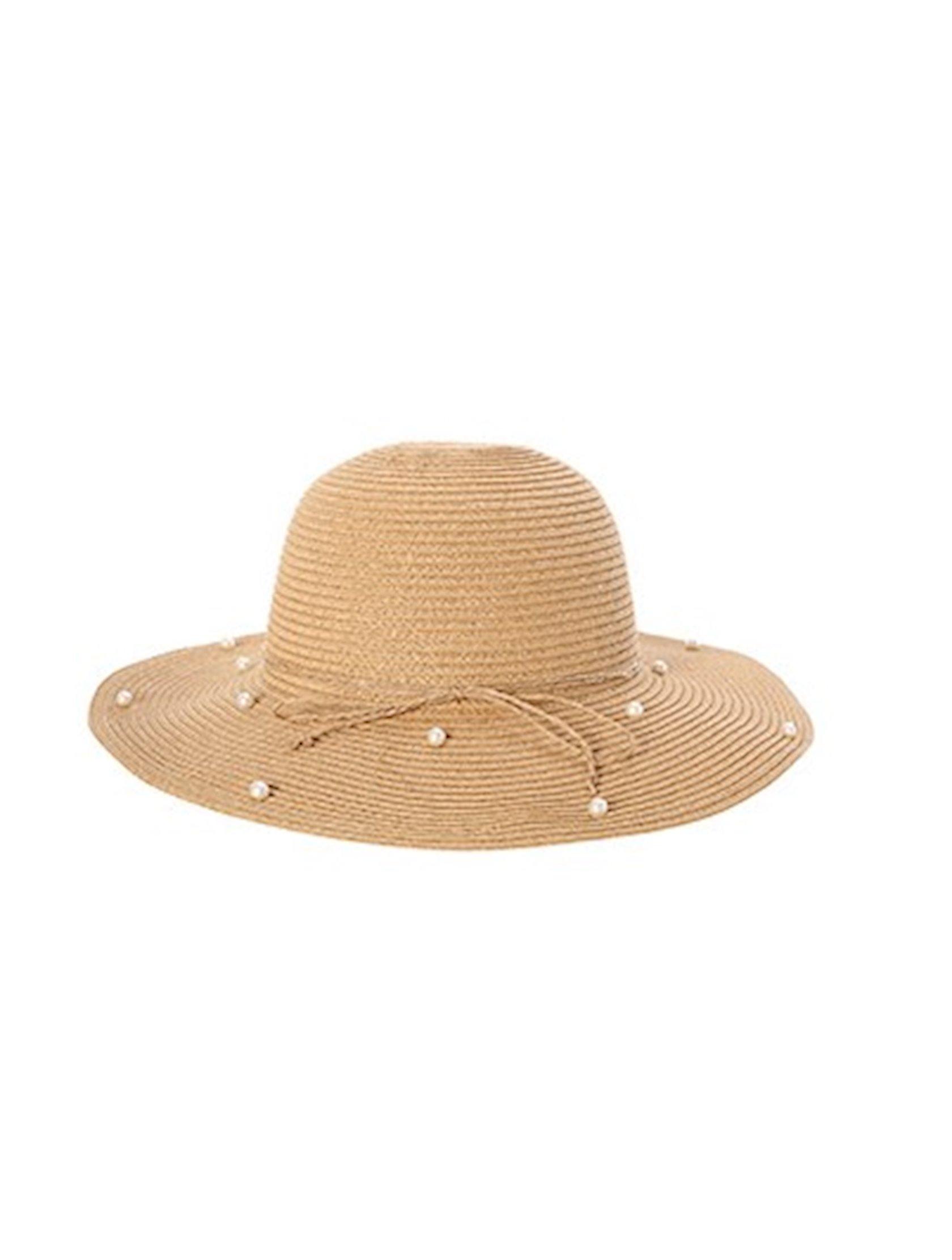 Qadınlar üçün şlyapa Miniso Solid Color Straw Hat with Pearls, çeşiddə