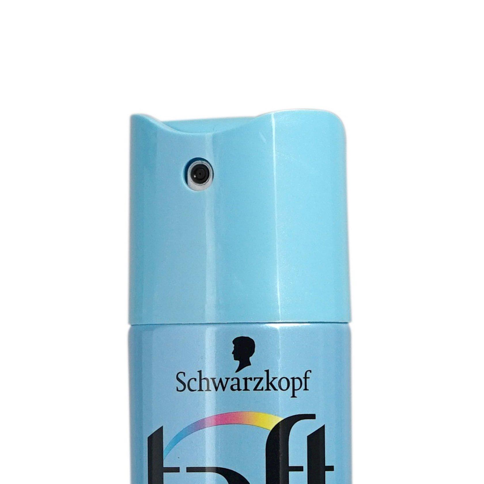 Saç lakı Taft Ultra Pure Supergüclü fiksasiya 225 ml