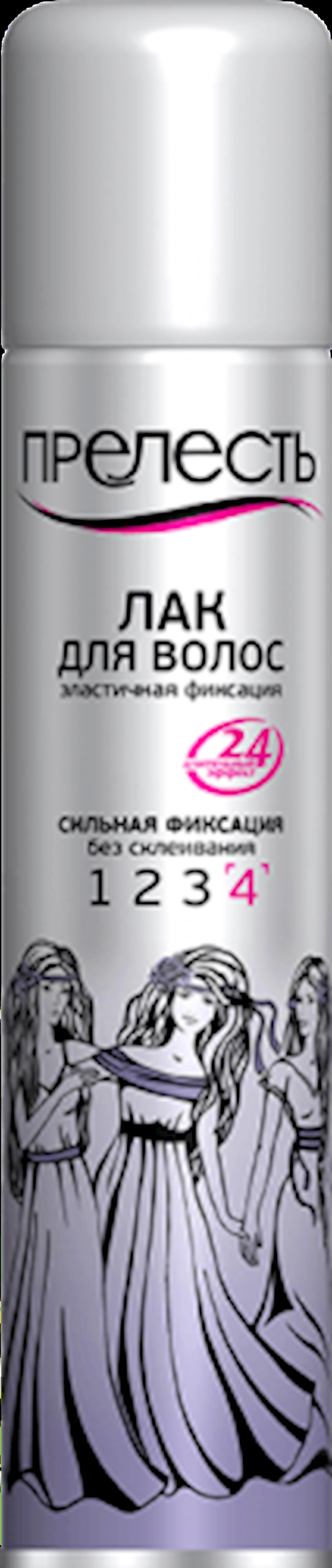 Saç lakı Прелесть güclü fiksasiya 200 ml