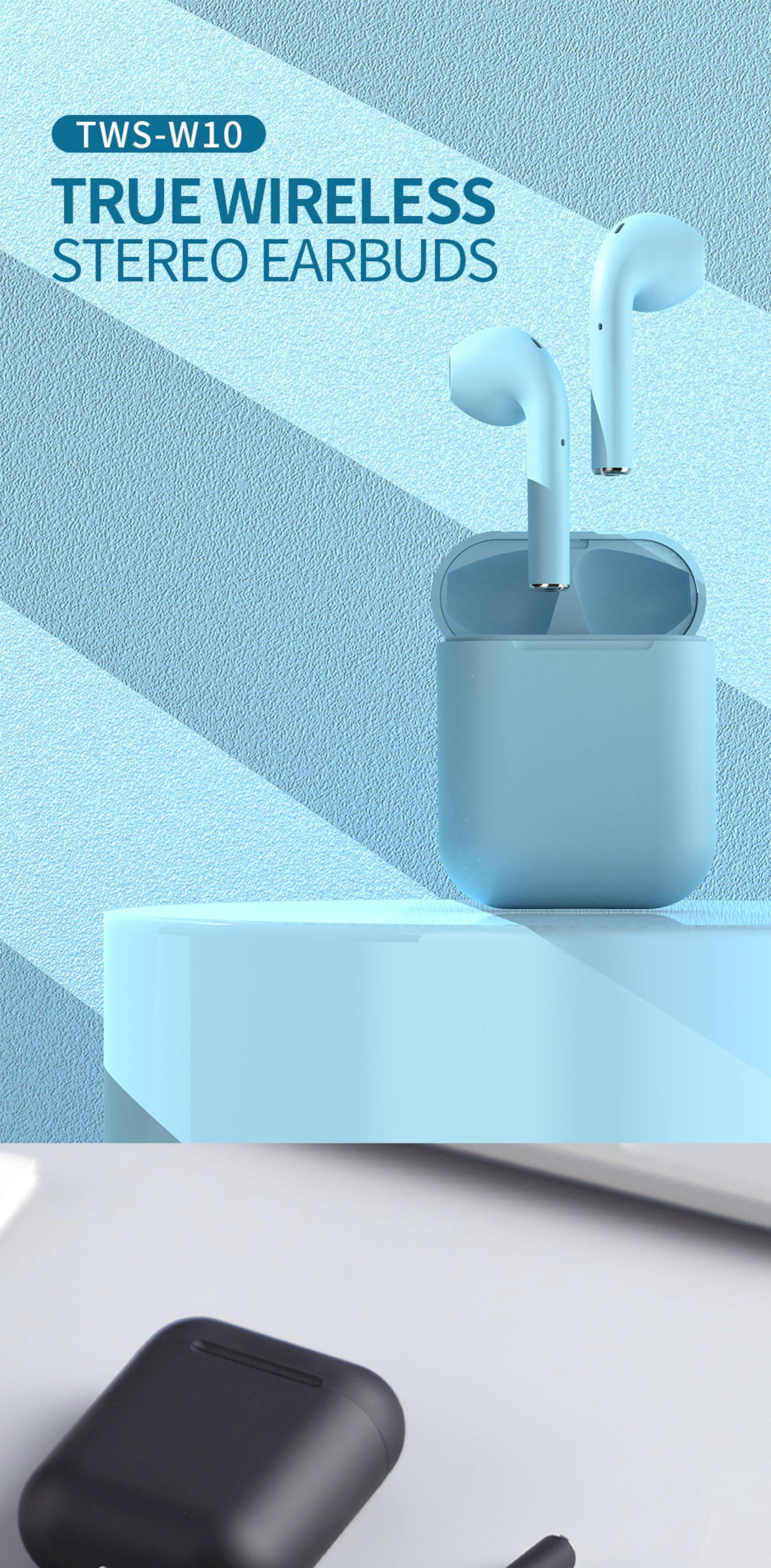 Simsiz qulaqlıq Celebrat TWS W10 Blue