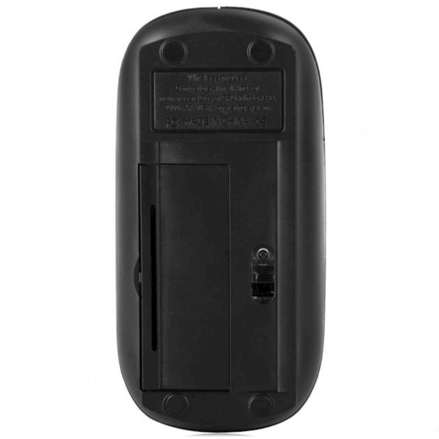 Siçan UKC Wireless Slim Silent Click USB 2.4 GHz Qara