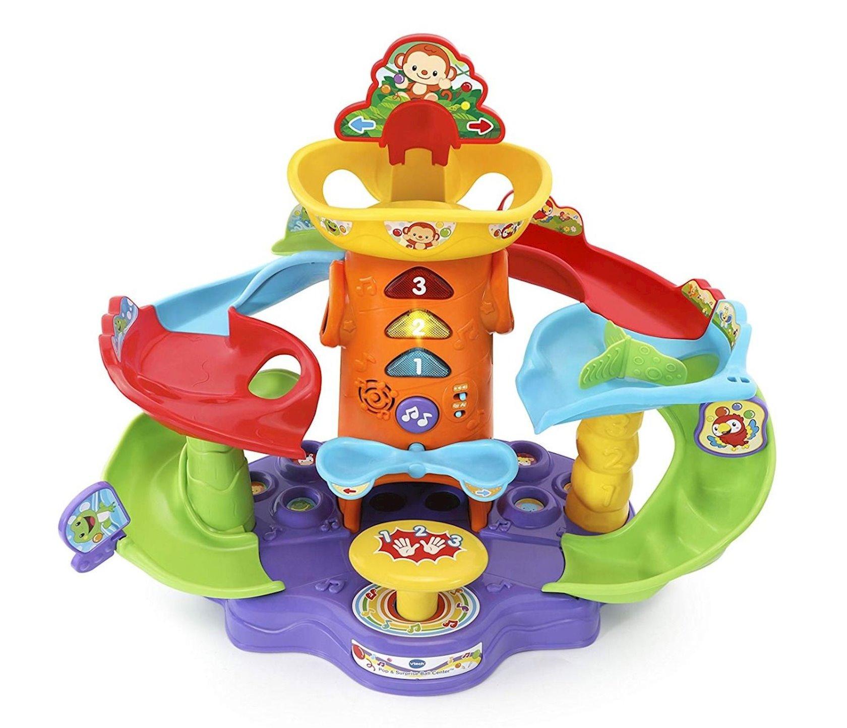 İnkişafedirici oyuncaq Vtech Pop-A-Ball Pop & Play Tower