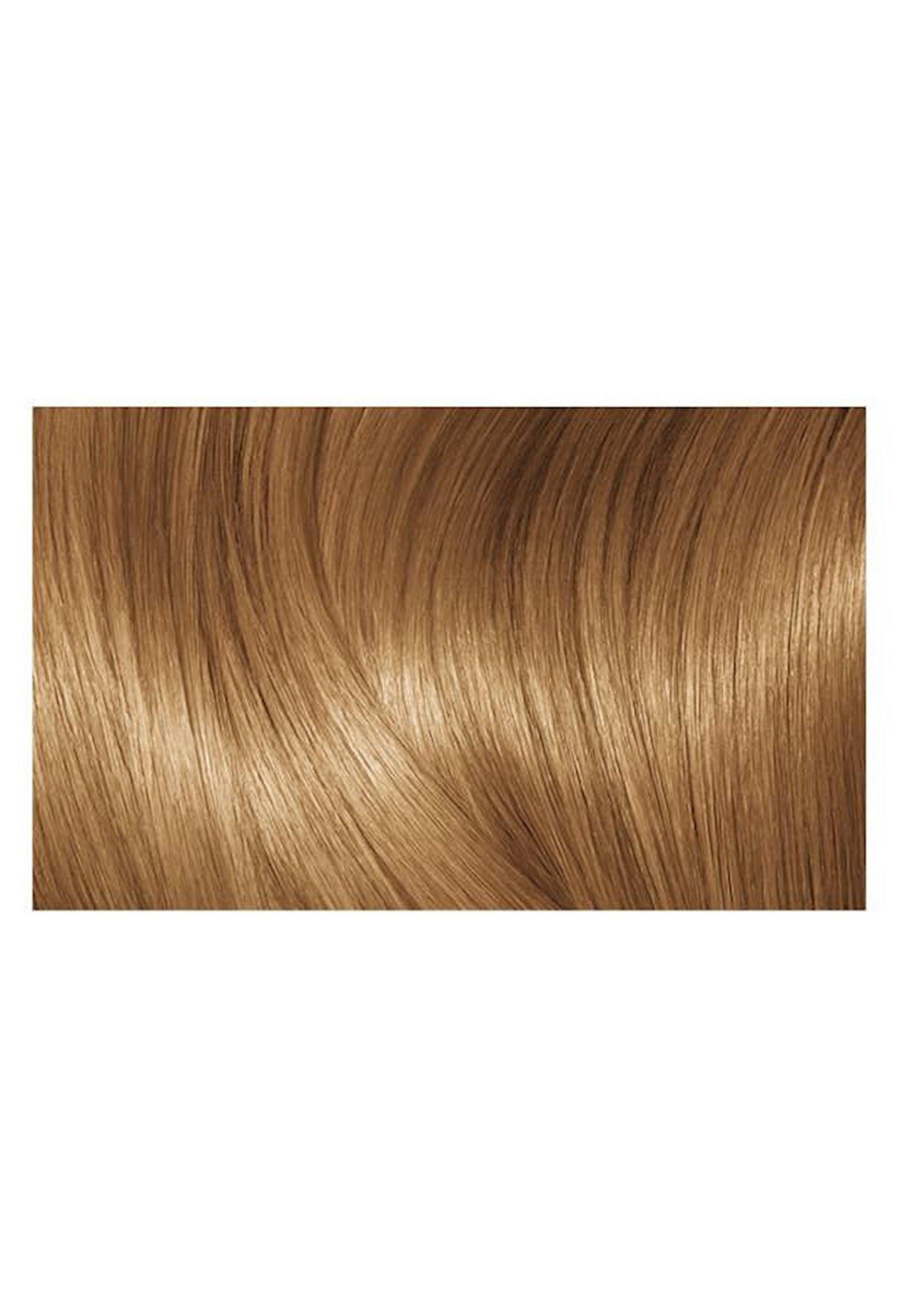 Saçlar üçün krem-boya L'Oréal Paris Excellence Creme, çalar 7.3, Qızılı xurmayı, 192 ml