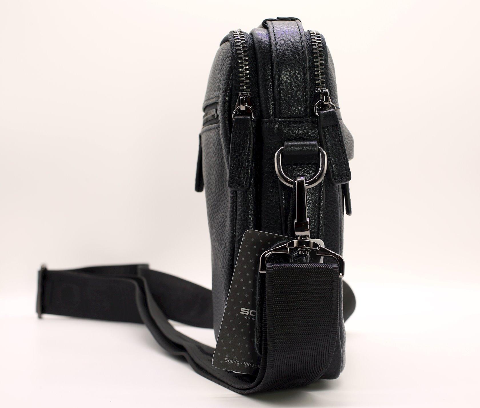 Kişi çantası Solido YD6021 qara
