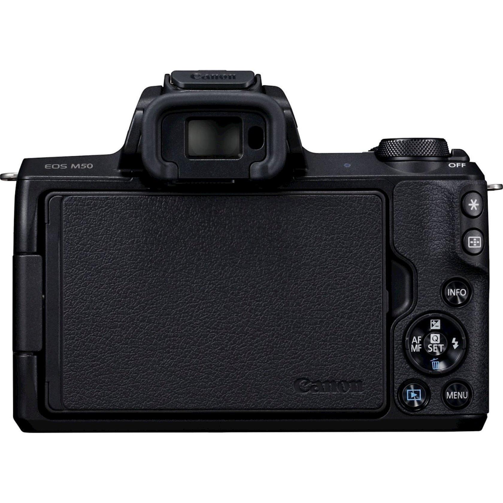 Fotoaparat Canon D.CAM EOS M50 BK M15-45 S RUK