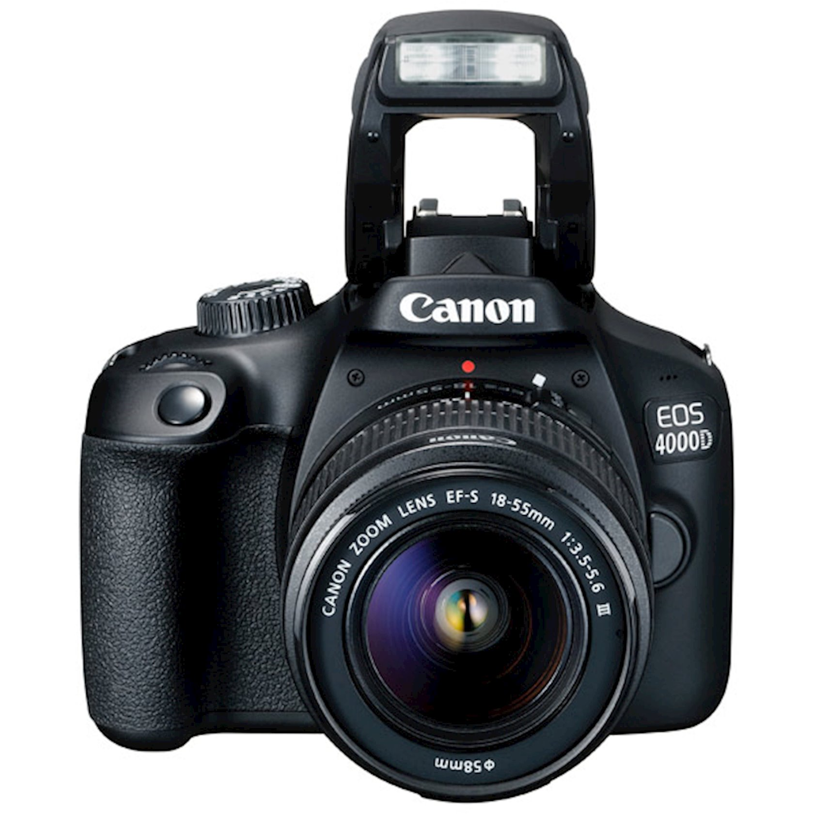 Fotoaparat Canon D.CAM EOS 4000D BK BODY 18-55 RUK